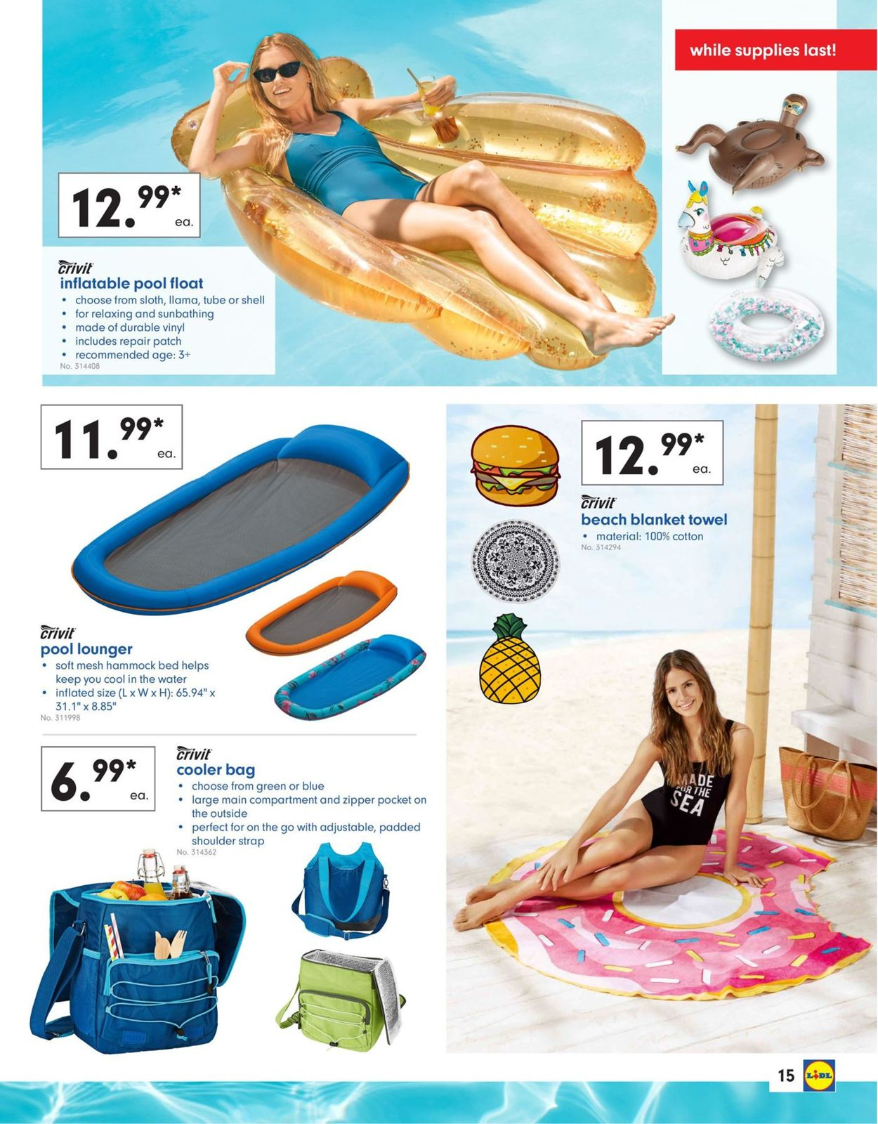 Air lounger lidl Lidl is