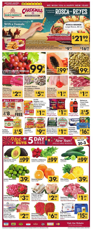 Catalogue Los Altos Ranch Market from 12/30/2020