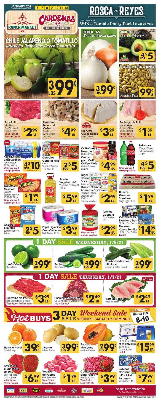 Catalogue Los Altos Ranch Market from 01/06/2021