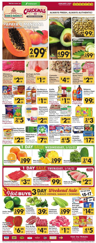 Catalogue Los Altos Ranch Market from 01/13/2021