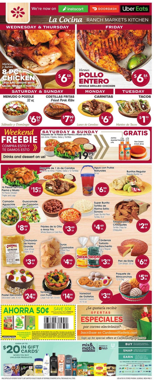 Catalogue Los Altos Ranch Market from 06/09/2021