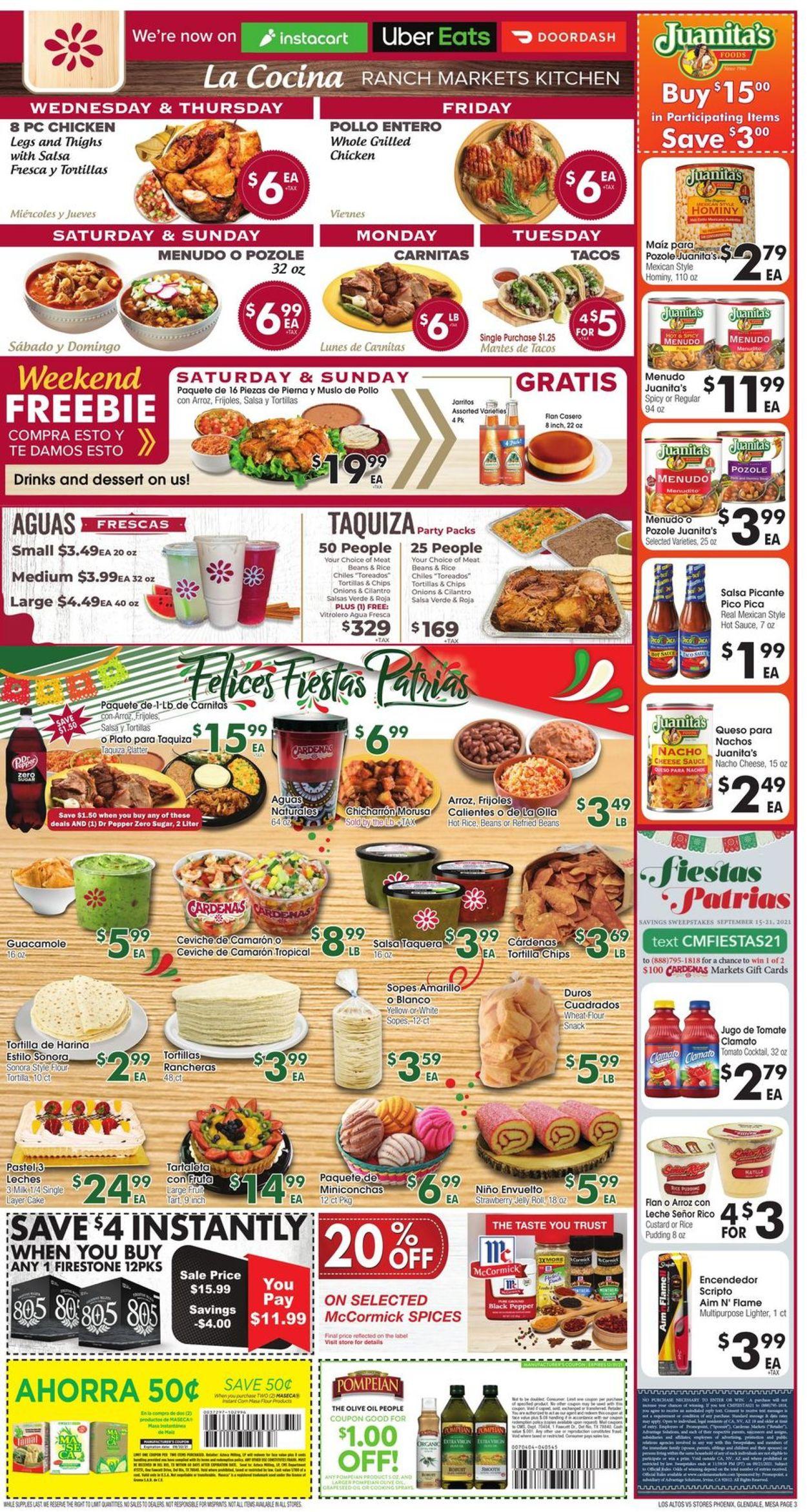 Catalogue Los Altos Ranch Market from 09/15/2021