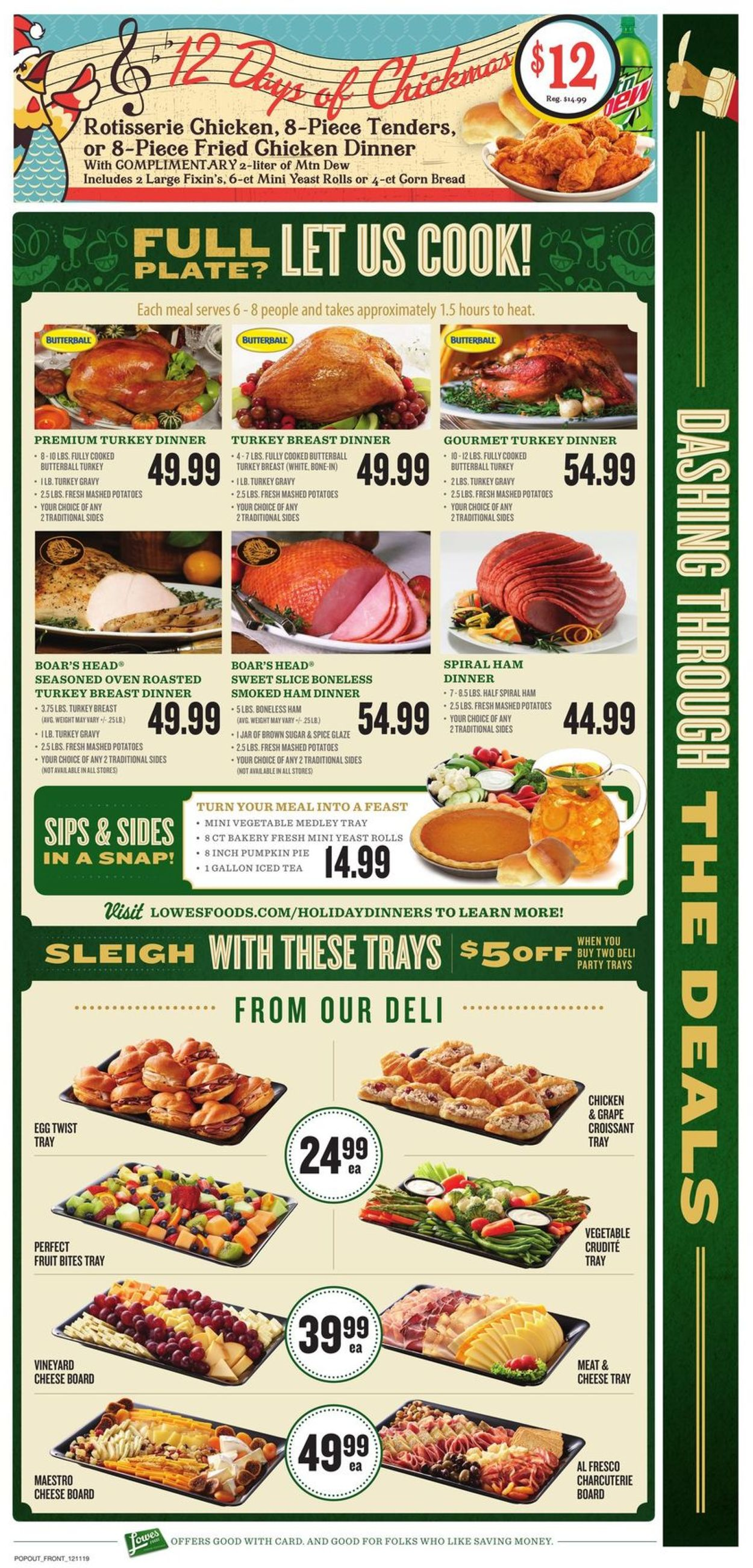 Lowes Foods Christmas Dinners 2020 Lowes Foods   Holiday Ad 2019 Current weekly ad 12/11   12/17/2019