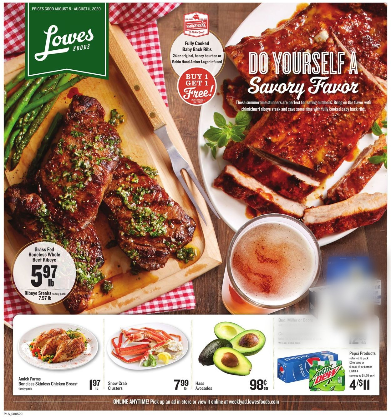 Lowes Foods Christmas Dinners 2020 Lowes Foods Current weekly ad 08/05   08/11/2020   frequent ads.com