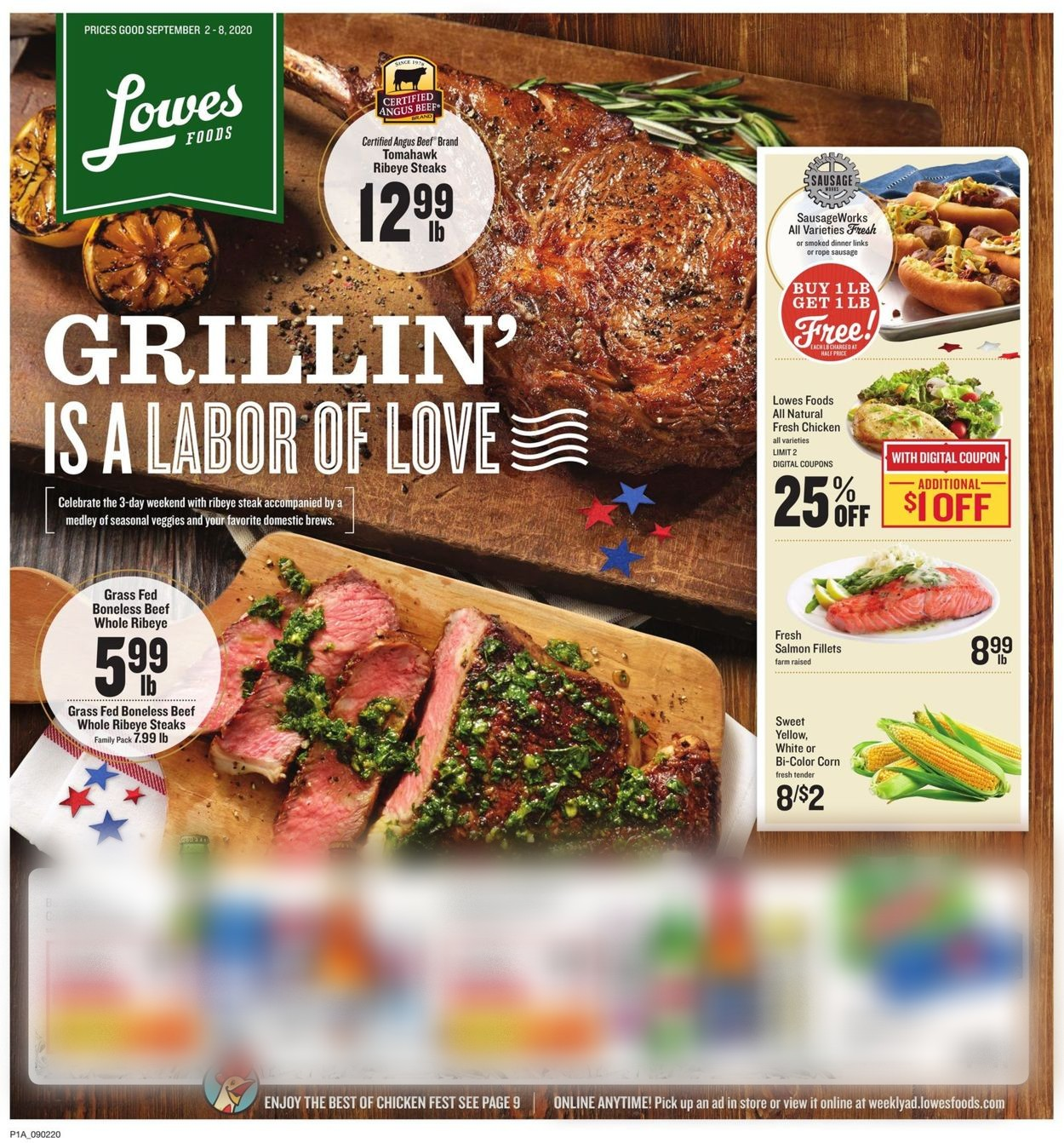Lowes Foods Current weekly ad 09/02   09/08/2020   frequent ads.com