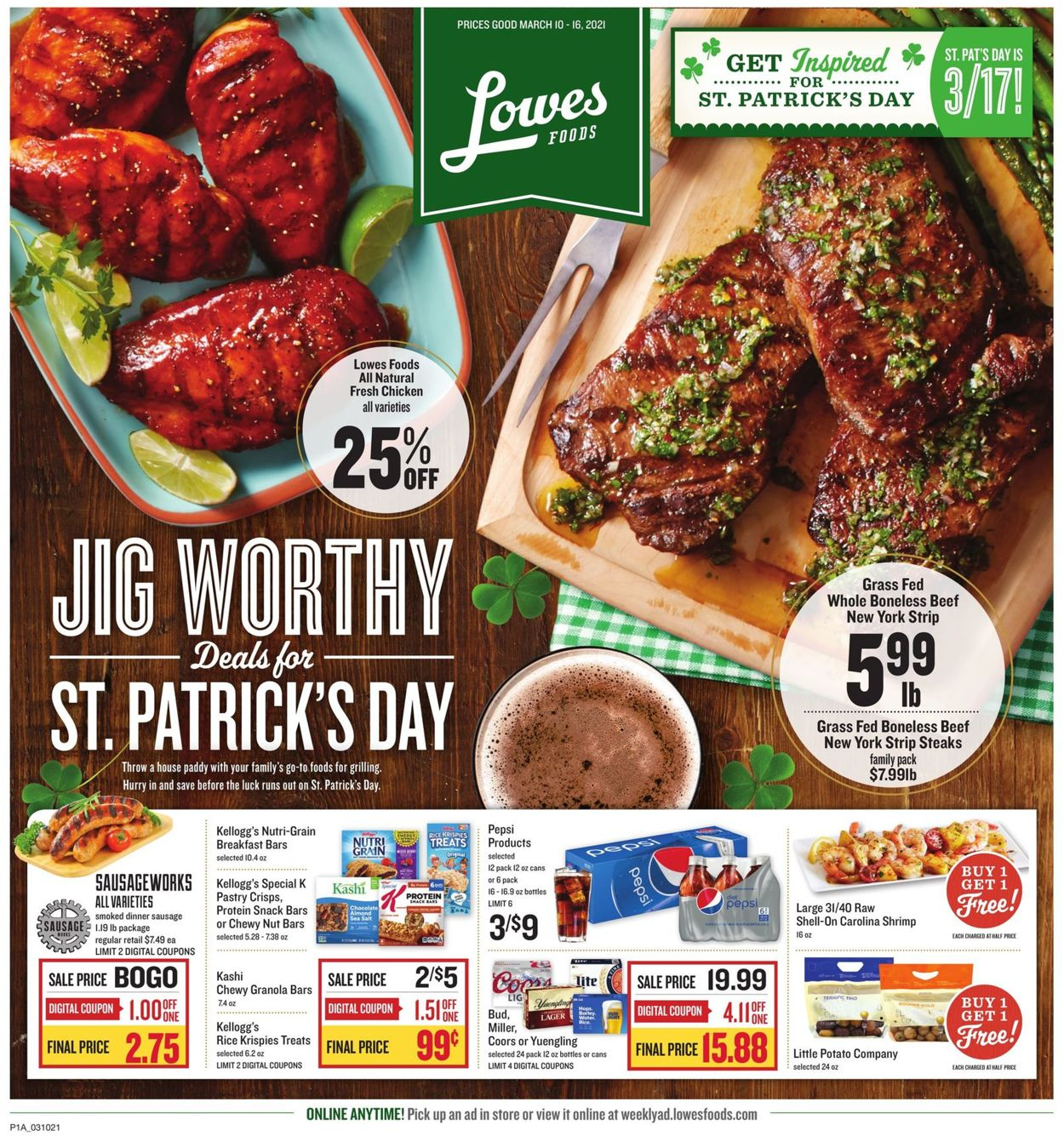 Catalogue Lowes Foods from 03/10/2021