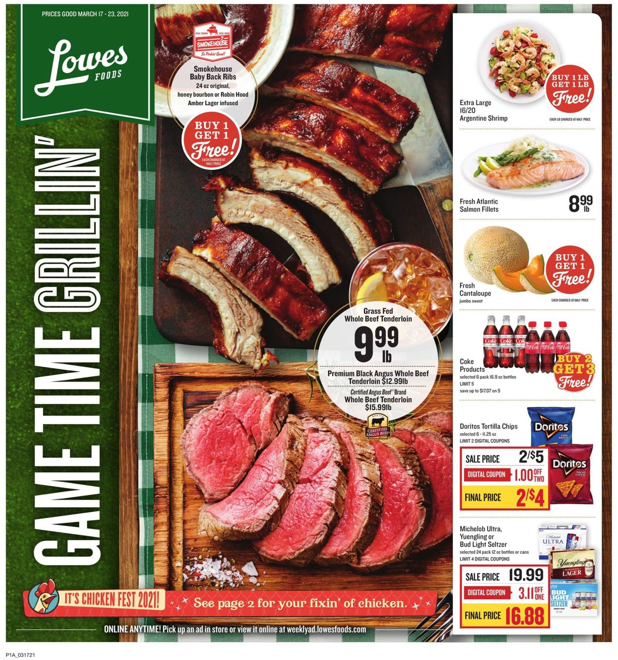 Catalogue Lowes Foods from 03/17/2021