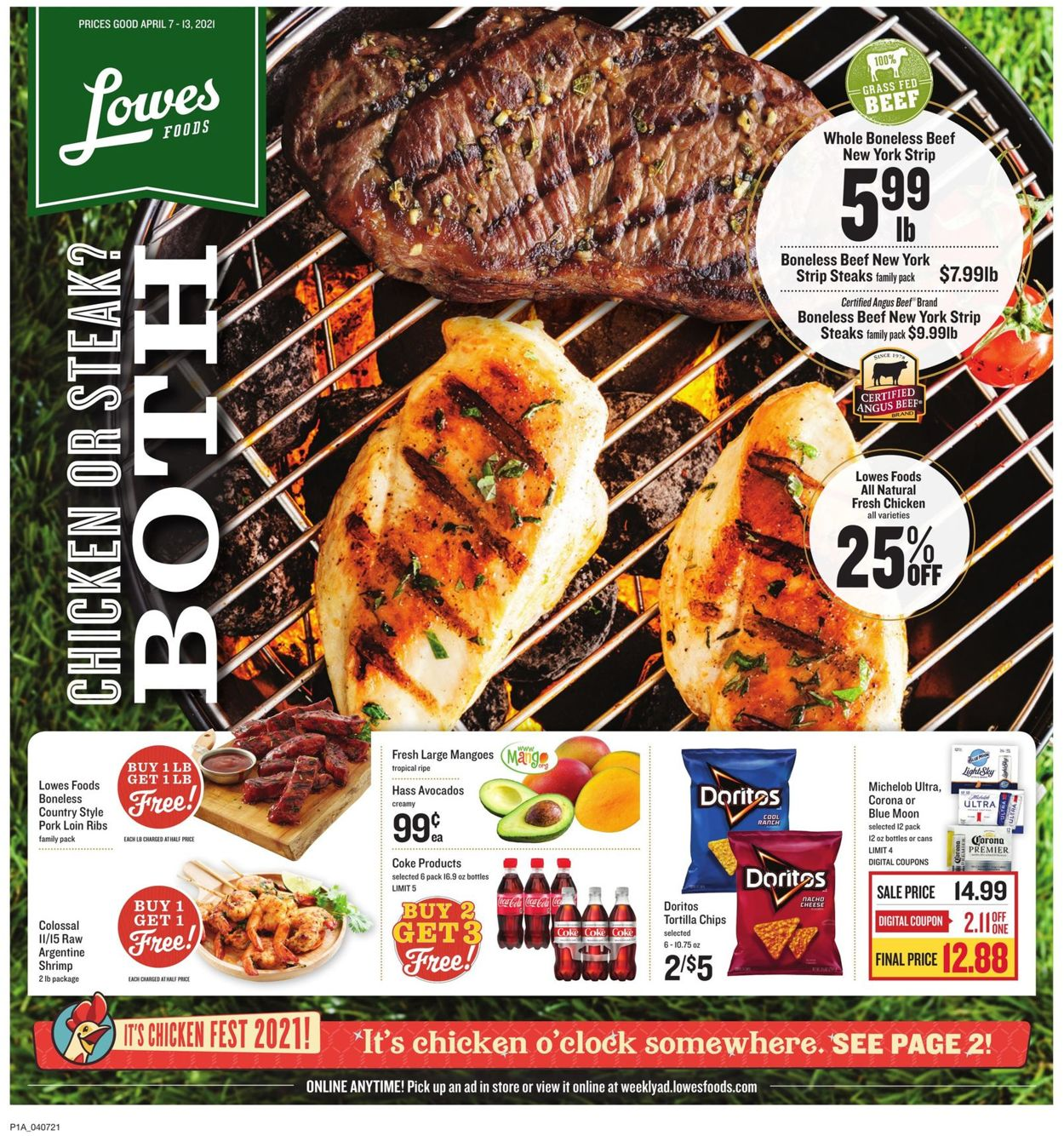 Catalogue Lowes Foods from 04/07/2021