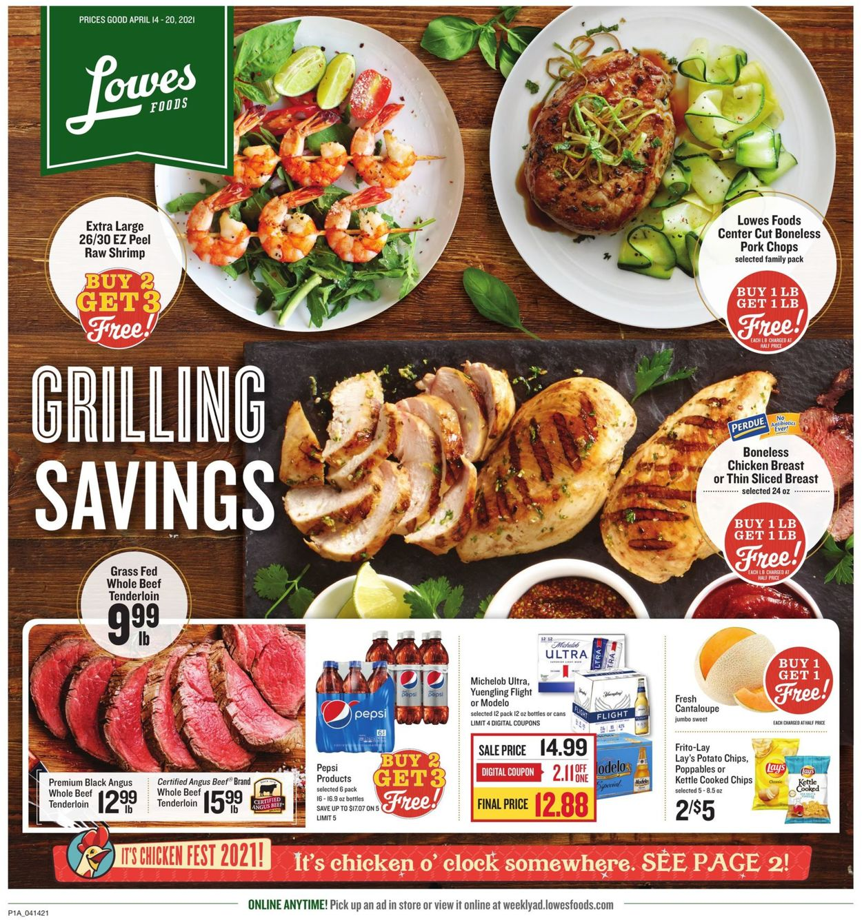 Catalogue Lowes Foods from 04/14/2021