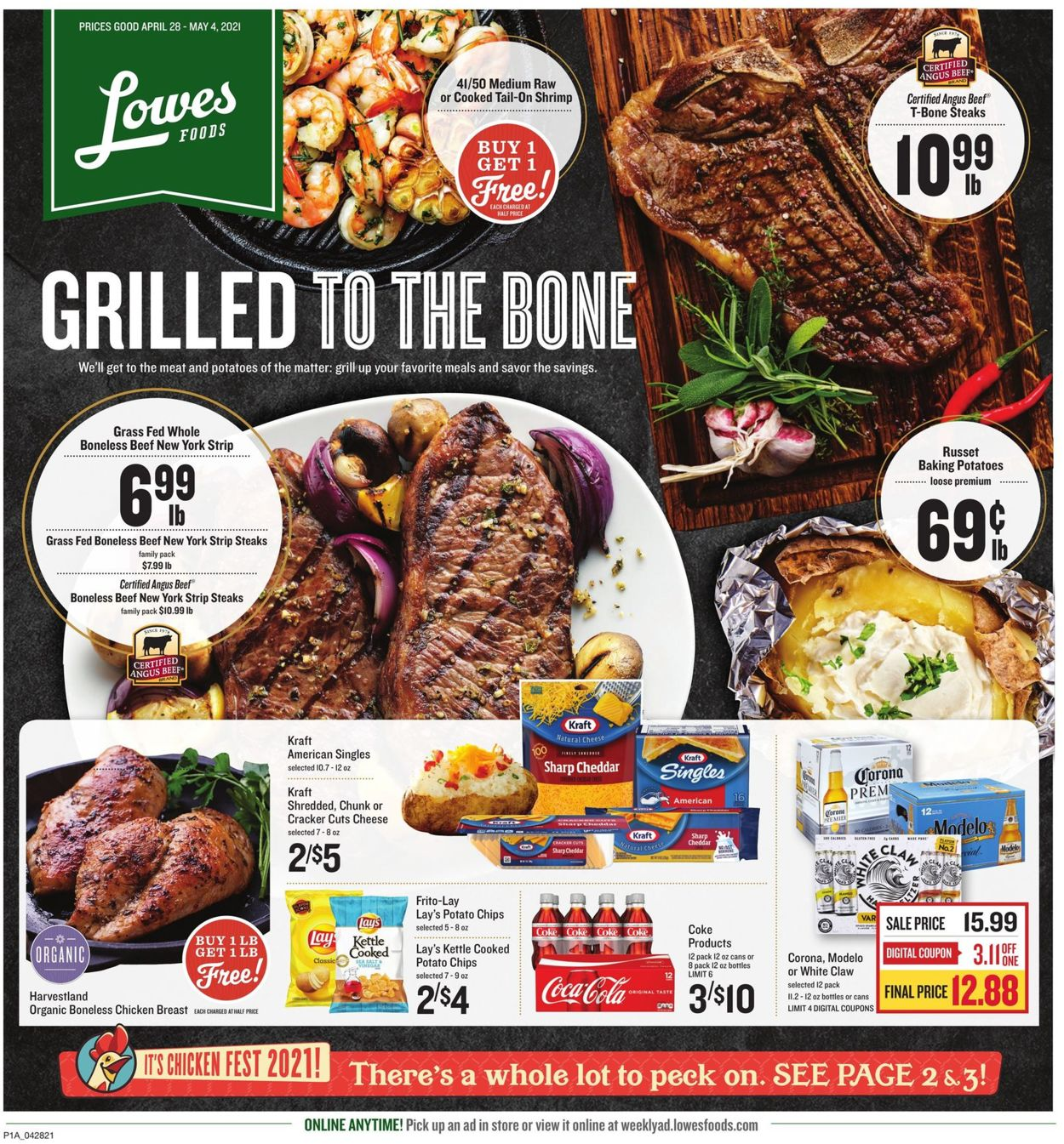 Catalogue Lowes Foods from 04/28/2021