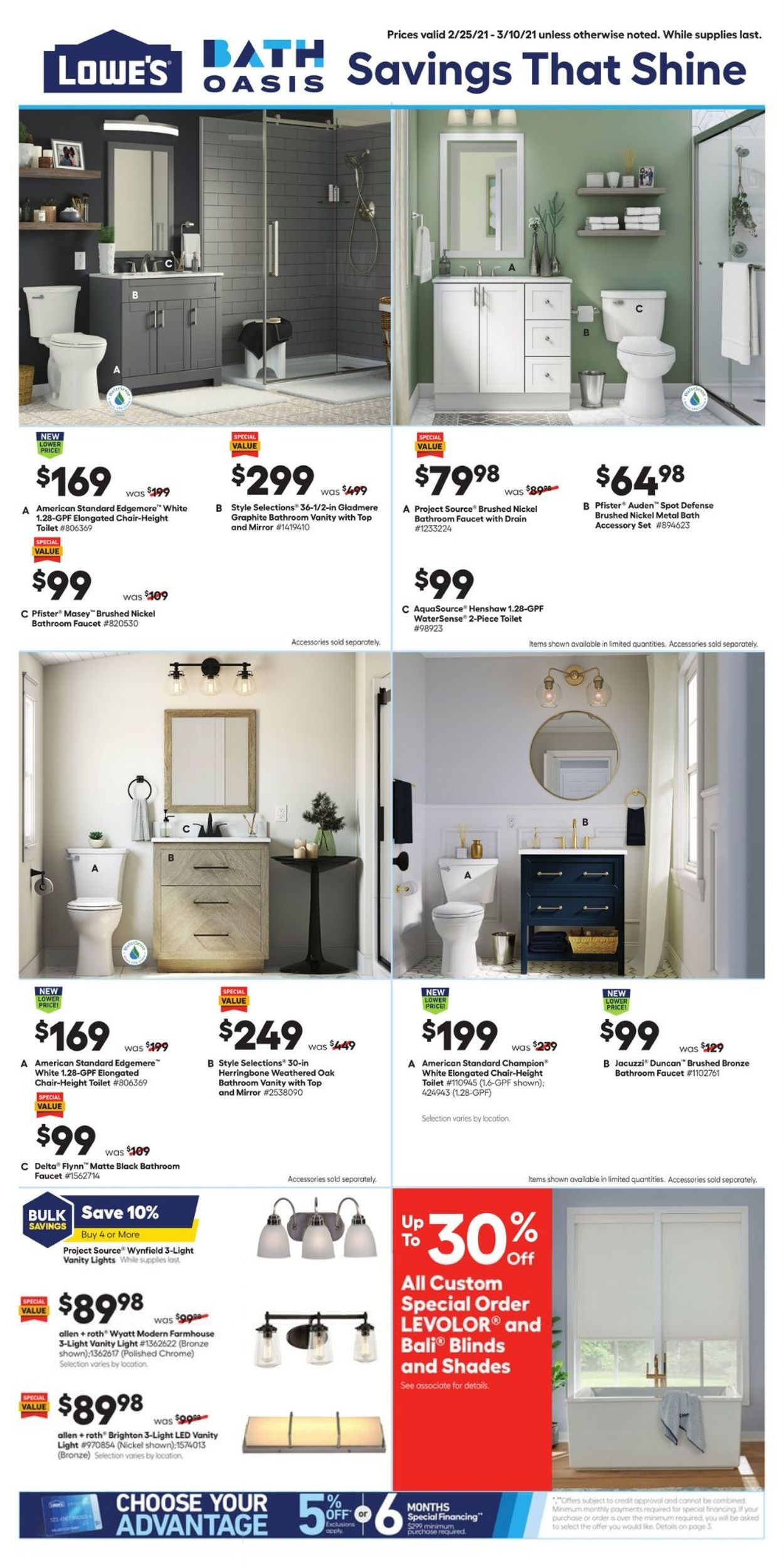 Catalogue Lowe's from 02/25/2021