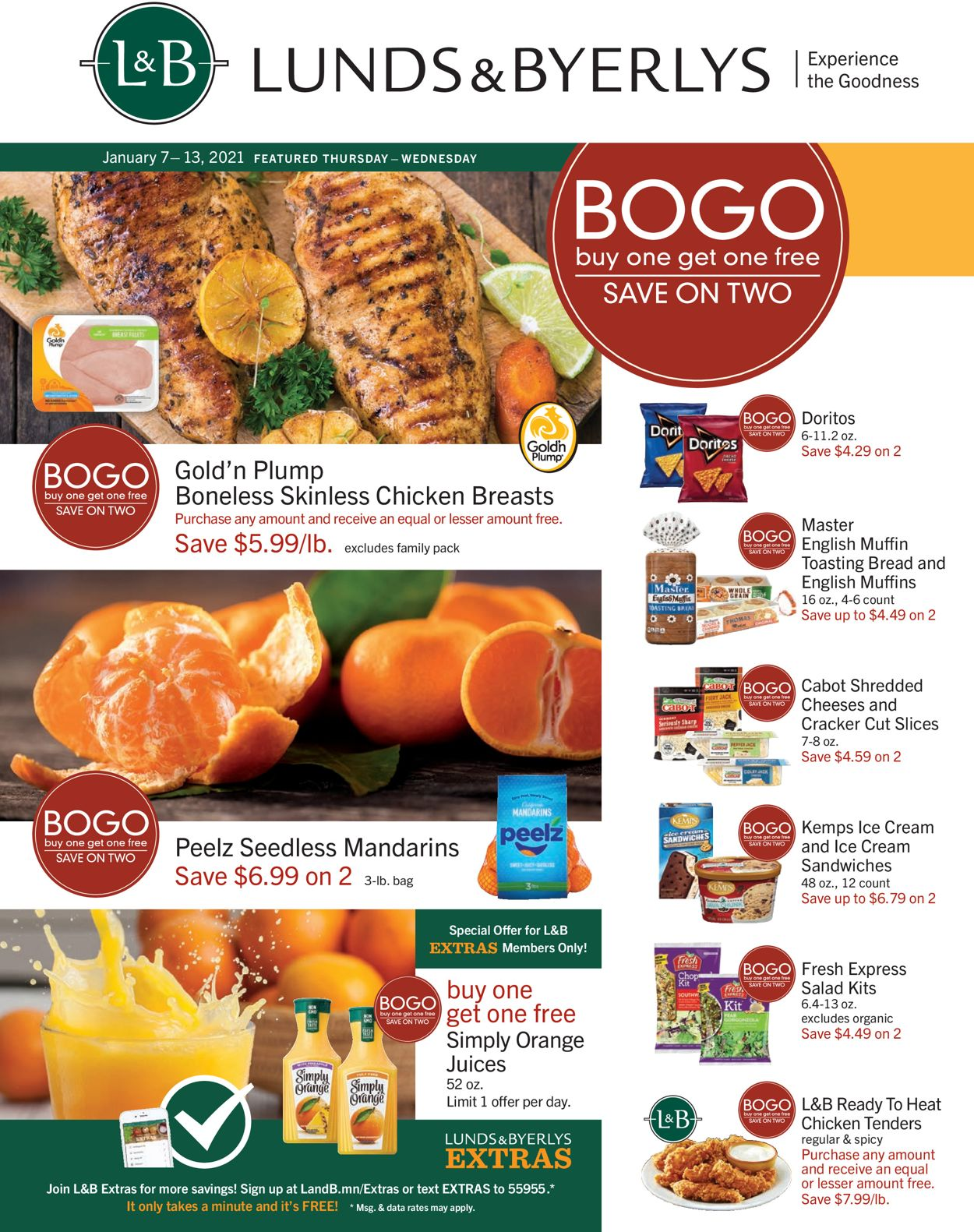 Catalogue Lunds & Byerlys from 01/07/2021