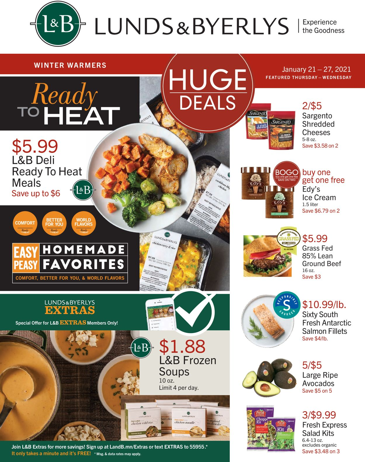 Catalogue Lunds & Byerlys from 01/21/2021