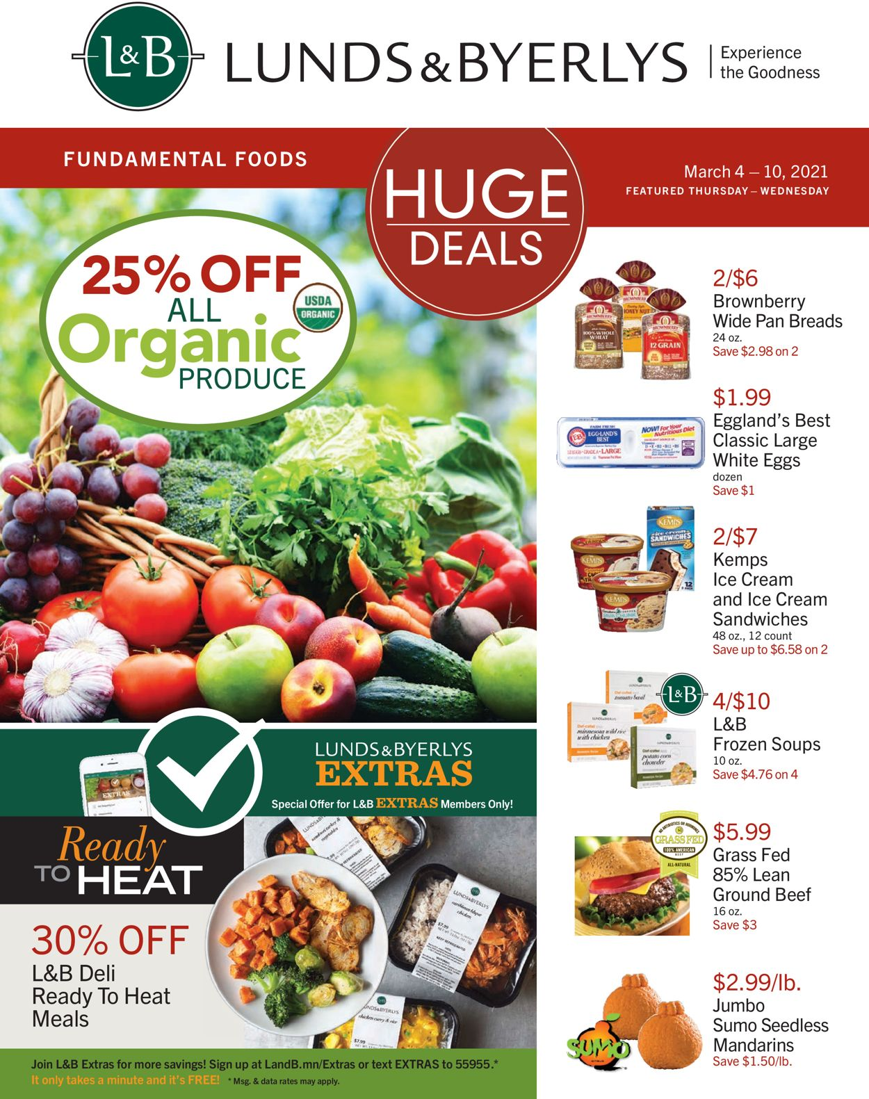 Catalogue Lunds & Byerlys from 03/04/2021