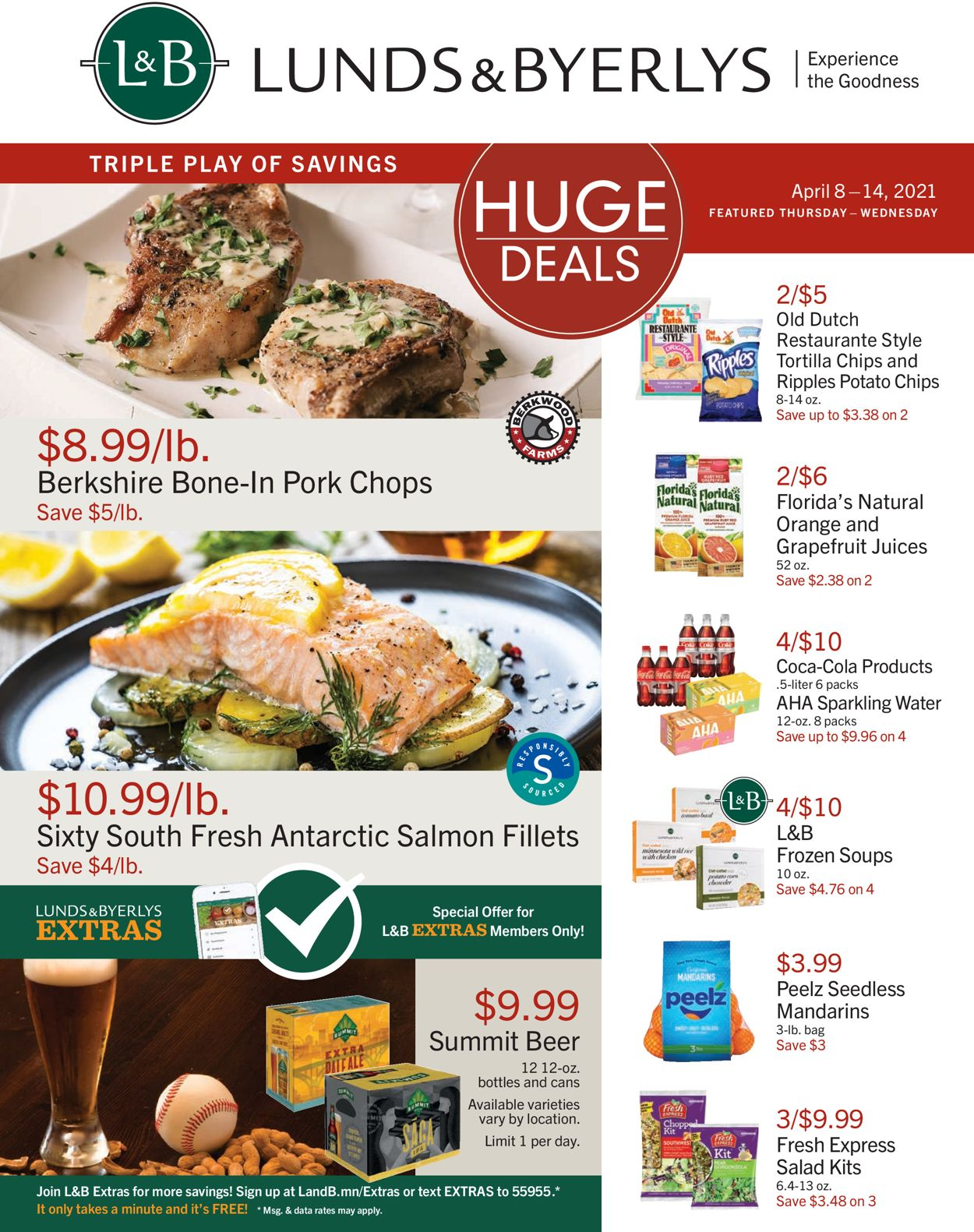 Catalogue Lunds & Byerlys from 04/08/2021