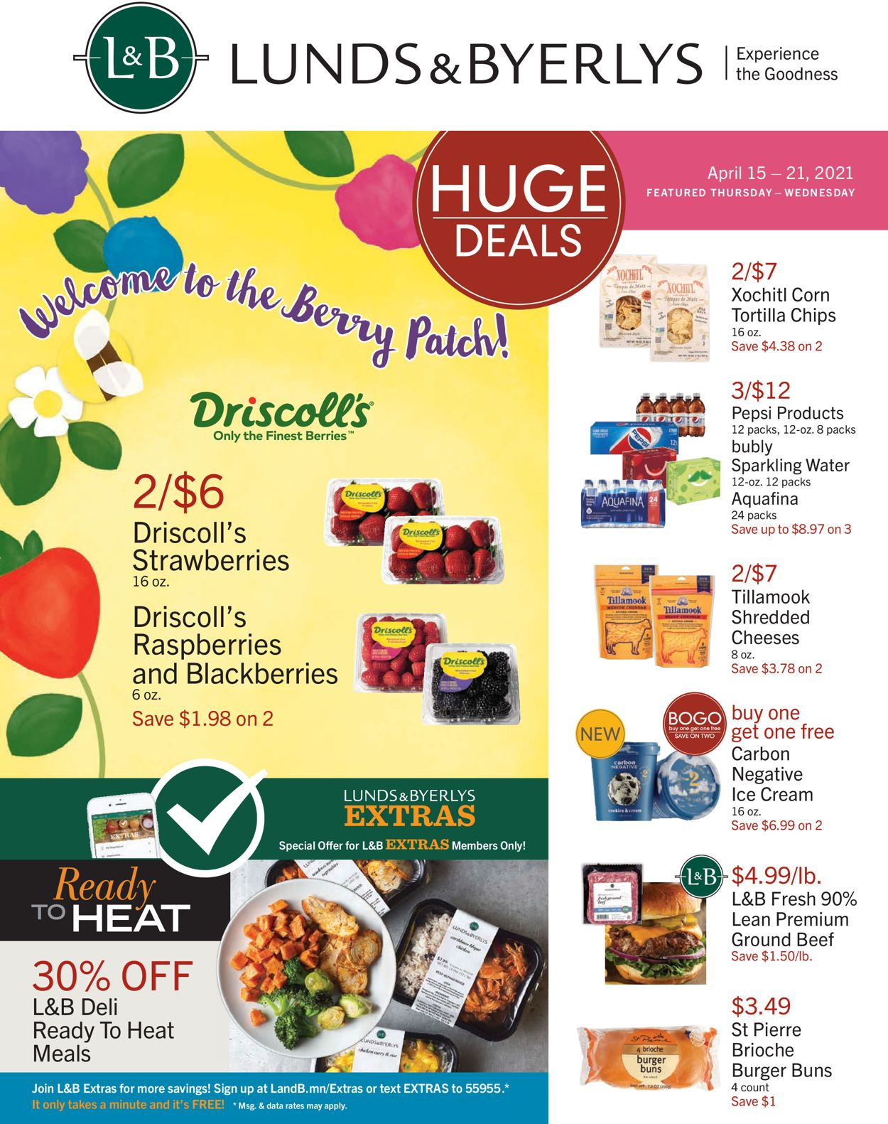 Catalogue Lunds & Byerlys from 04/15/2021