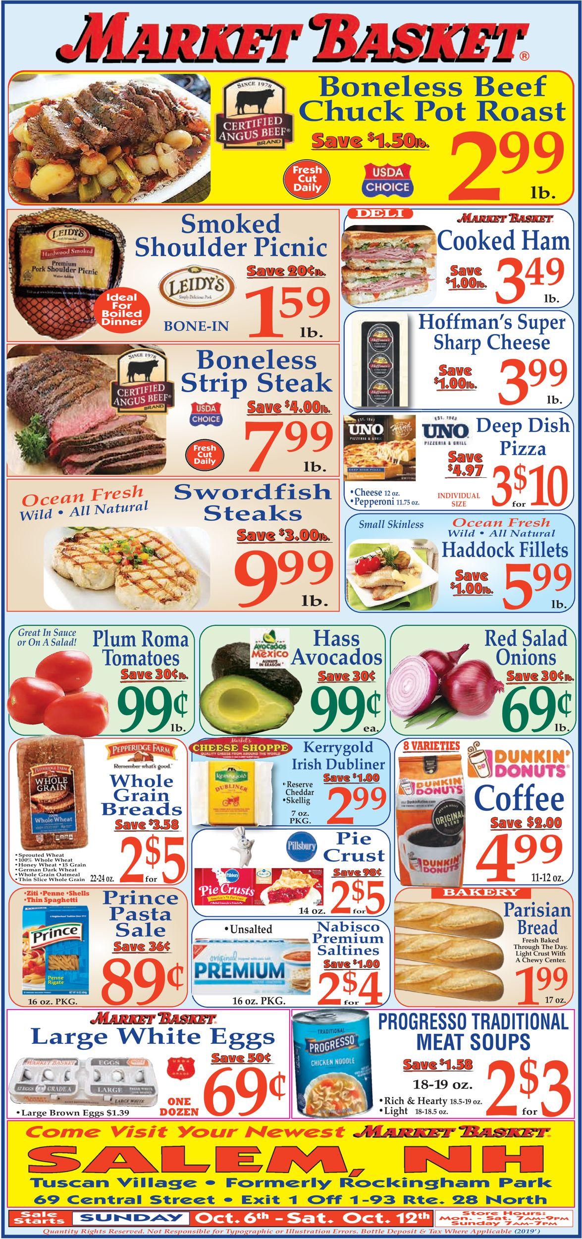 Market Basket Bakery Christmas 2020 Market Basket Current weekly ad 10/06   10/12/2019   frequent ads.com