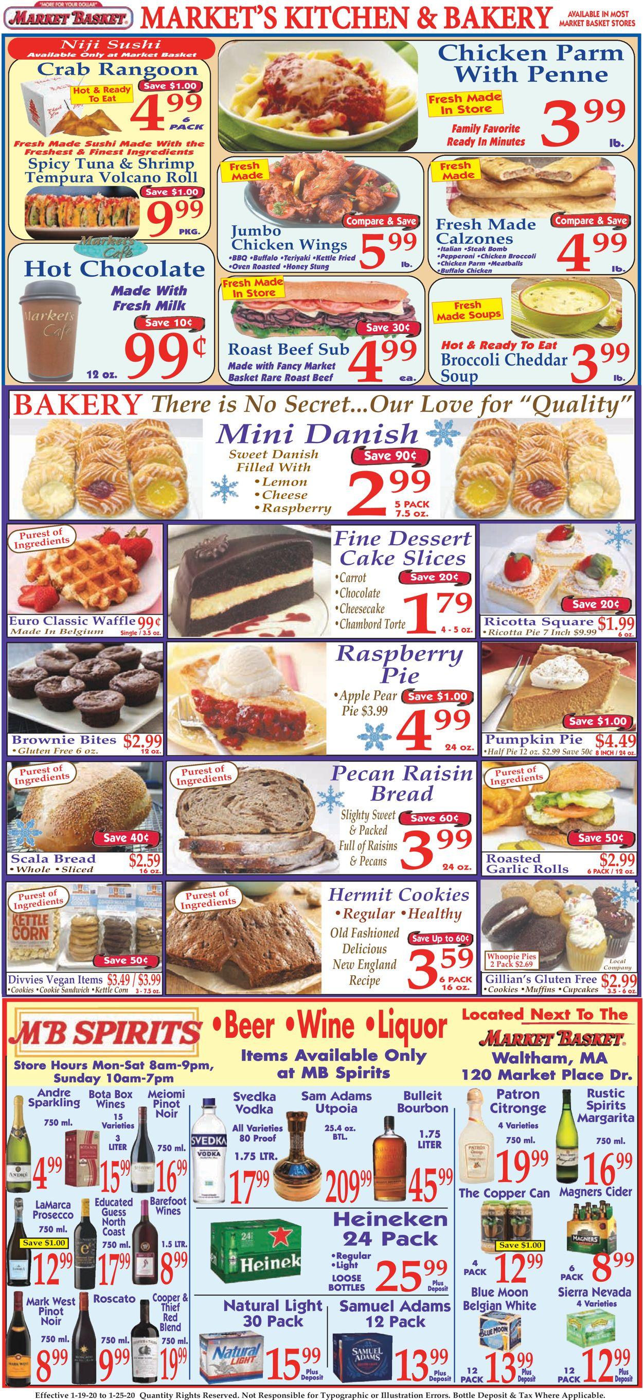 Market Basket Bakery Christmas 2020 Market Basket Current weekly ad 01/19   01/25/2020 [10]   frequent