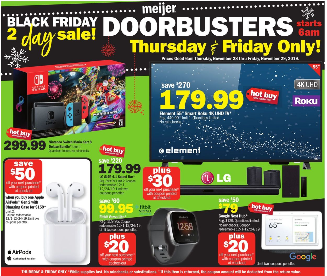 Meijer Black Friday Ad 2019 Current Weekly Ad 11 28 11
