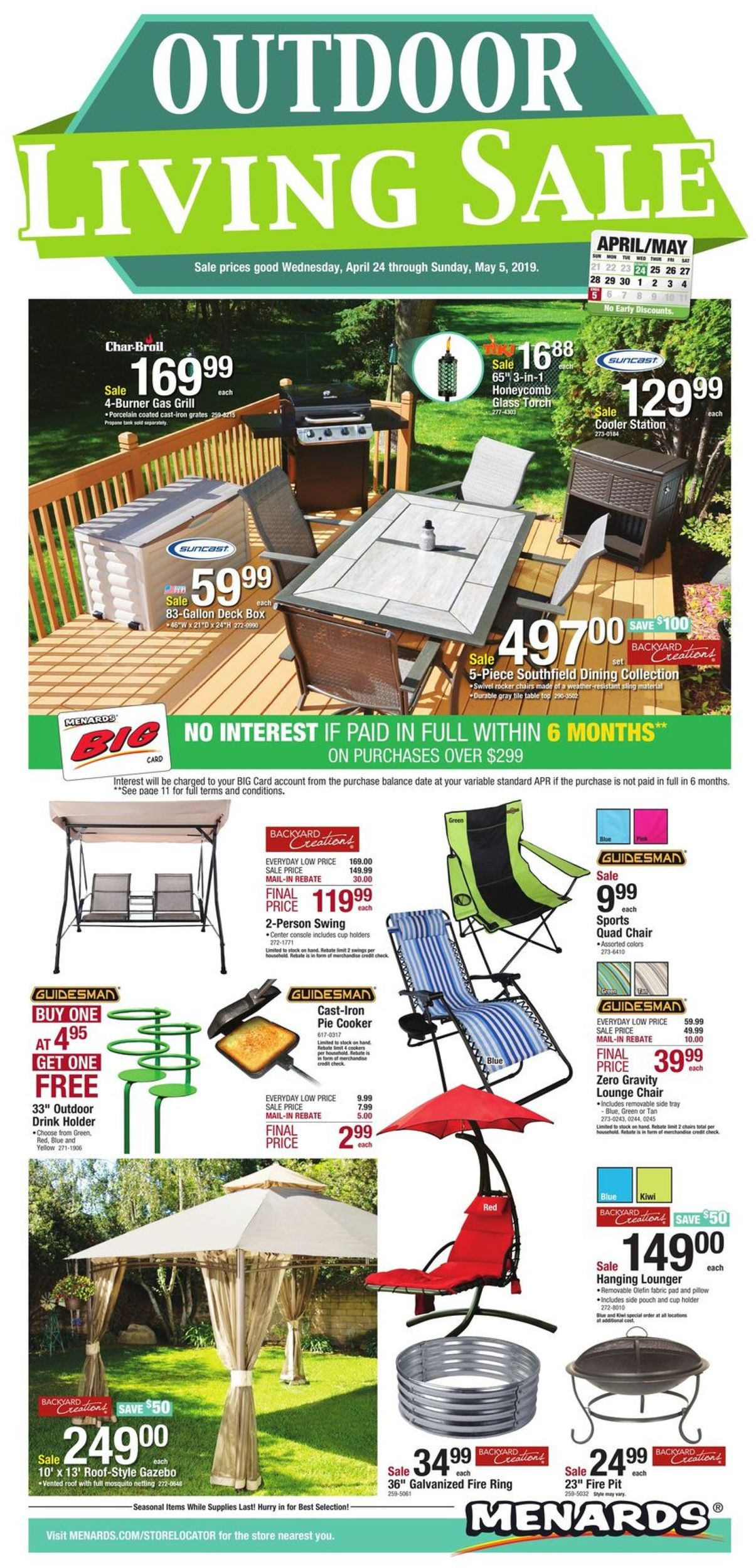 Menards Current Weekly Ad 04 24 05 05 2019 Frequent Ads Com