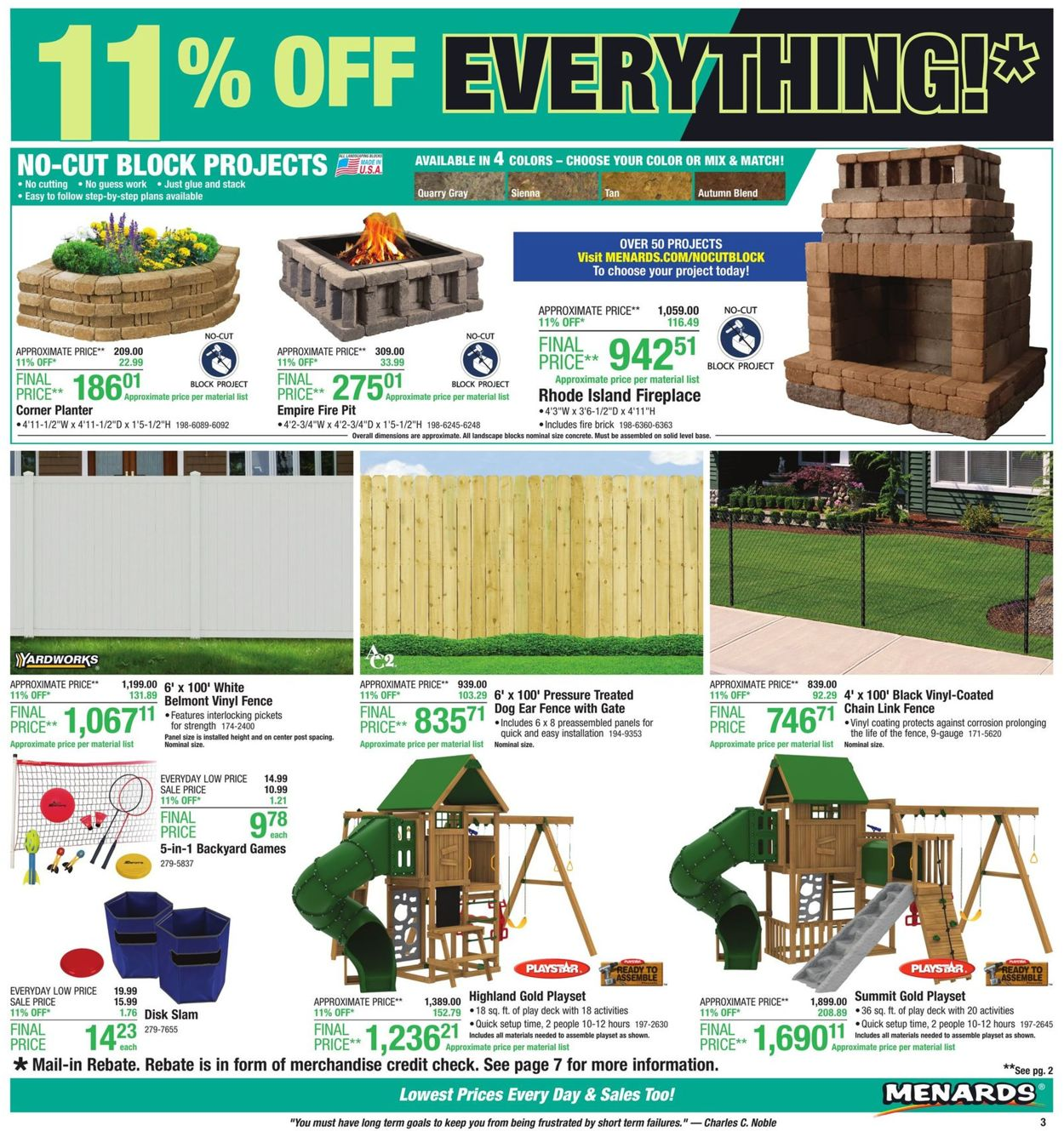 Menards Current weekly ad 05/12 - 05/18/2019 [3] - frequent ... on pottery barn house plans, belk house plans, carter lumber house plans, metal shop house plans, do it best house plans, hallmark house plans, walk out basement house plans, loft house plans, ikea house plans, small 3 bedrooms house plans, simple 4 bedroom house plans, ranch house plans, ebay house plans, secret passage house plans, brady house plans, marriott house plans, house floor plans, amazon house plans, single story house plans, lowe's house plans,