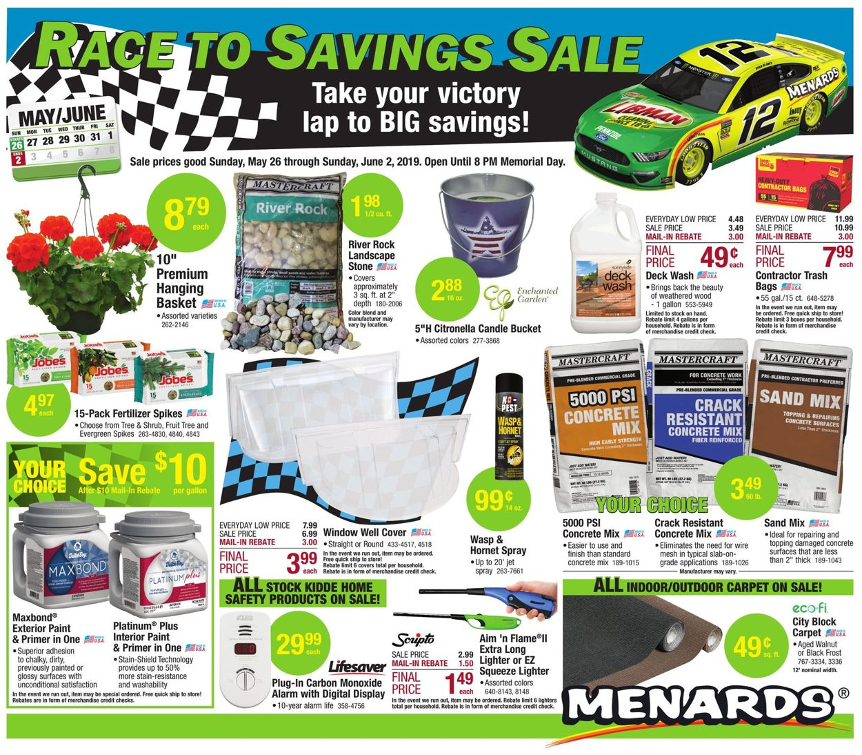 Menards Current weekly ad 05/26 - 06/02/2019 [3] - frequent