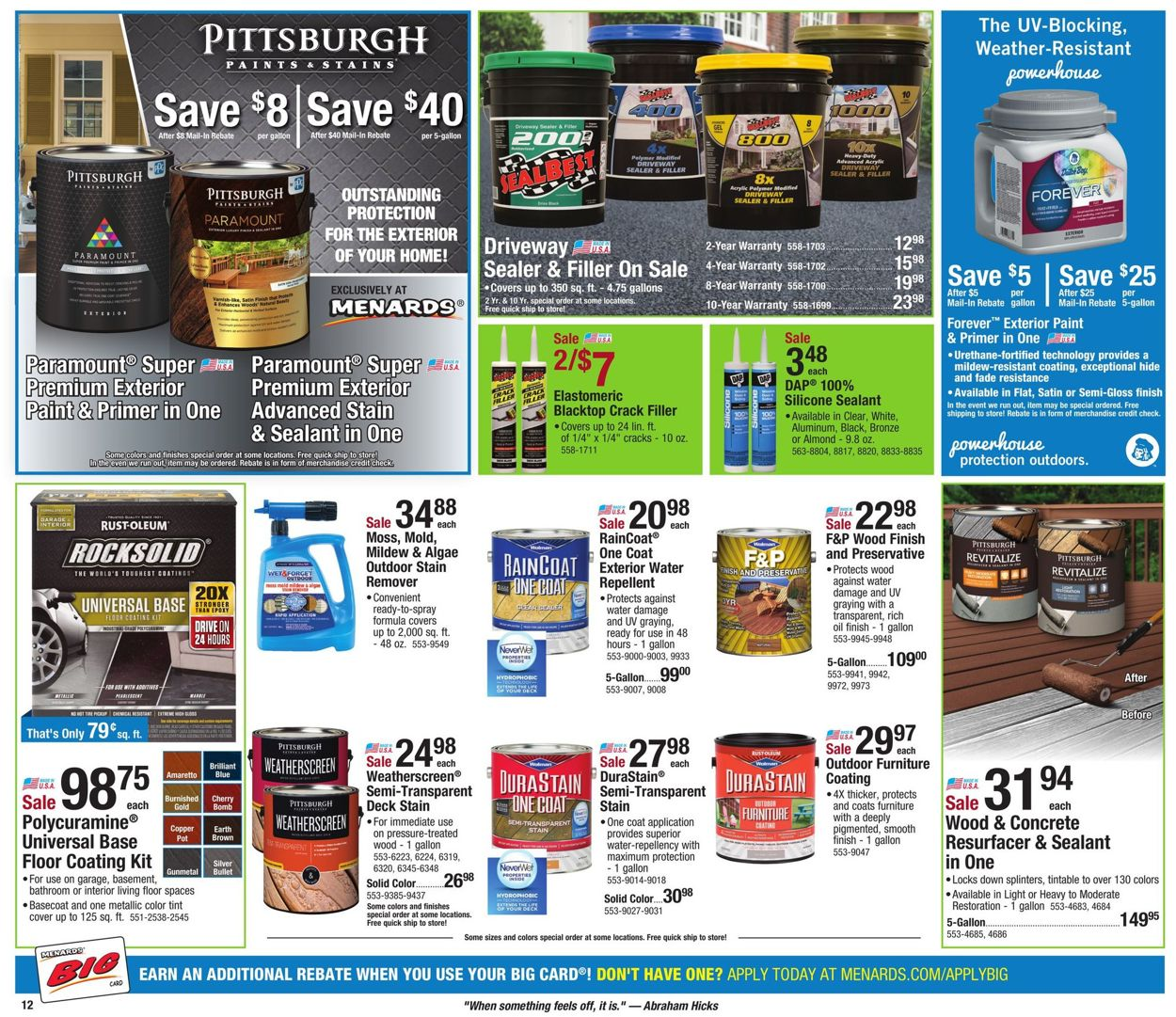 Menards Current weekly ad 06/09 - 06/15/2019 [15] - frequent