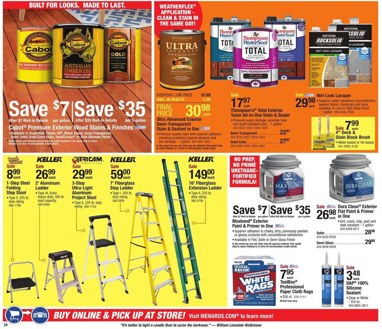Superb Menards Current Weekly Ad 07 21 08 03 2019 26 Frequent Cjindustries Chair Design For Home Cjindustriesco