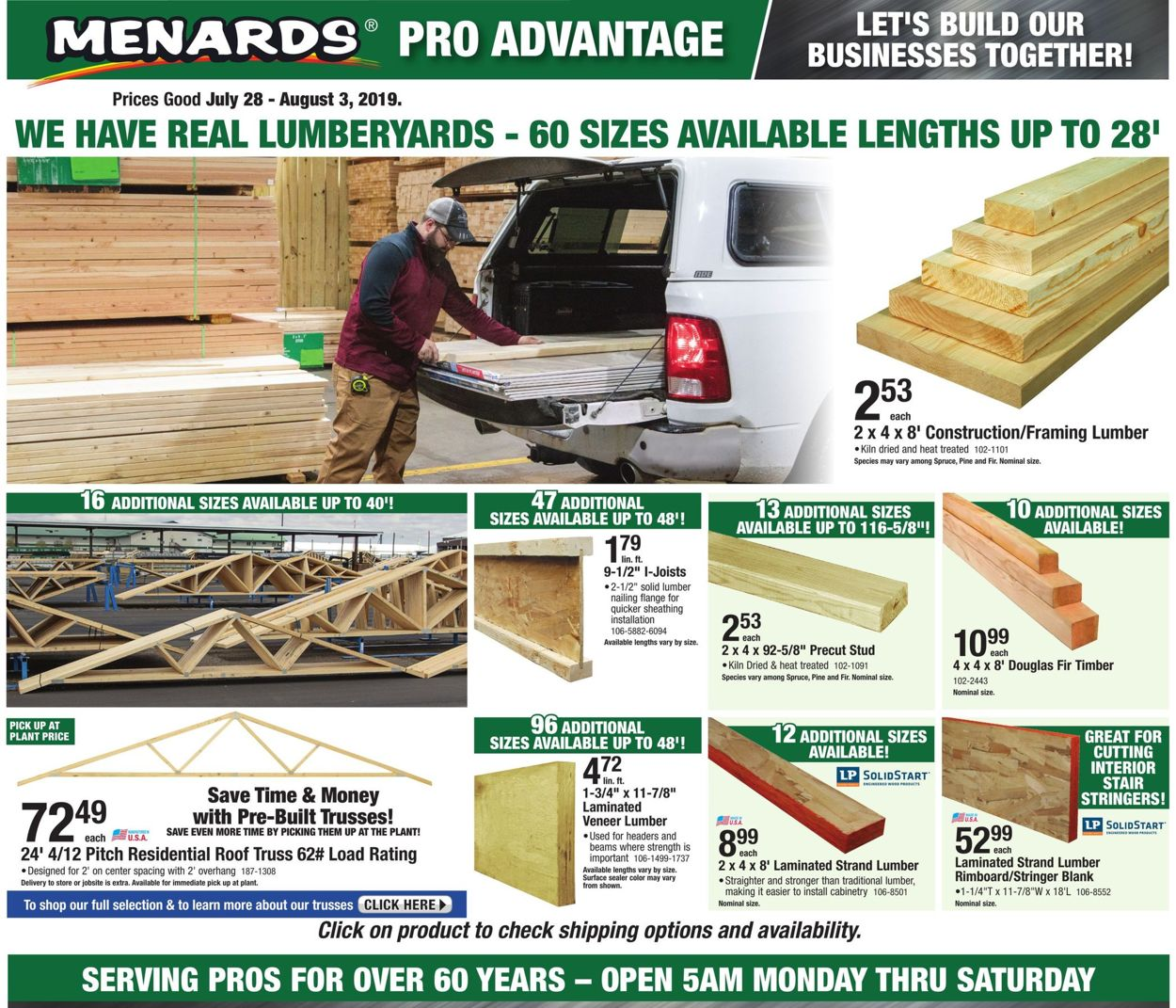 Menards Current weekly ad 07/28 - 08/03/2019 - frequent-ads com