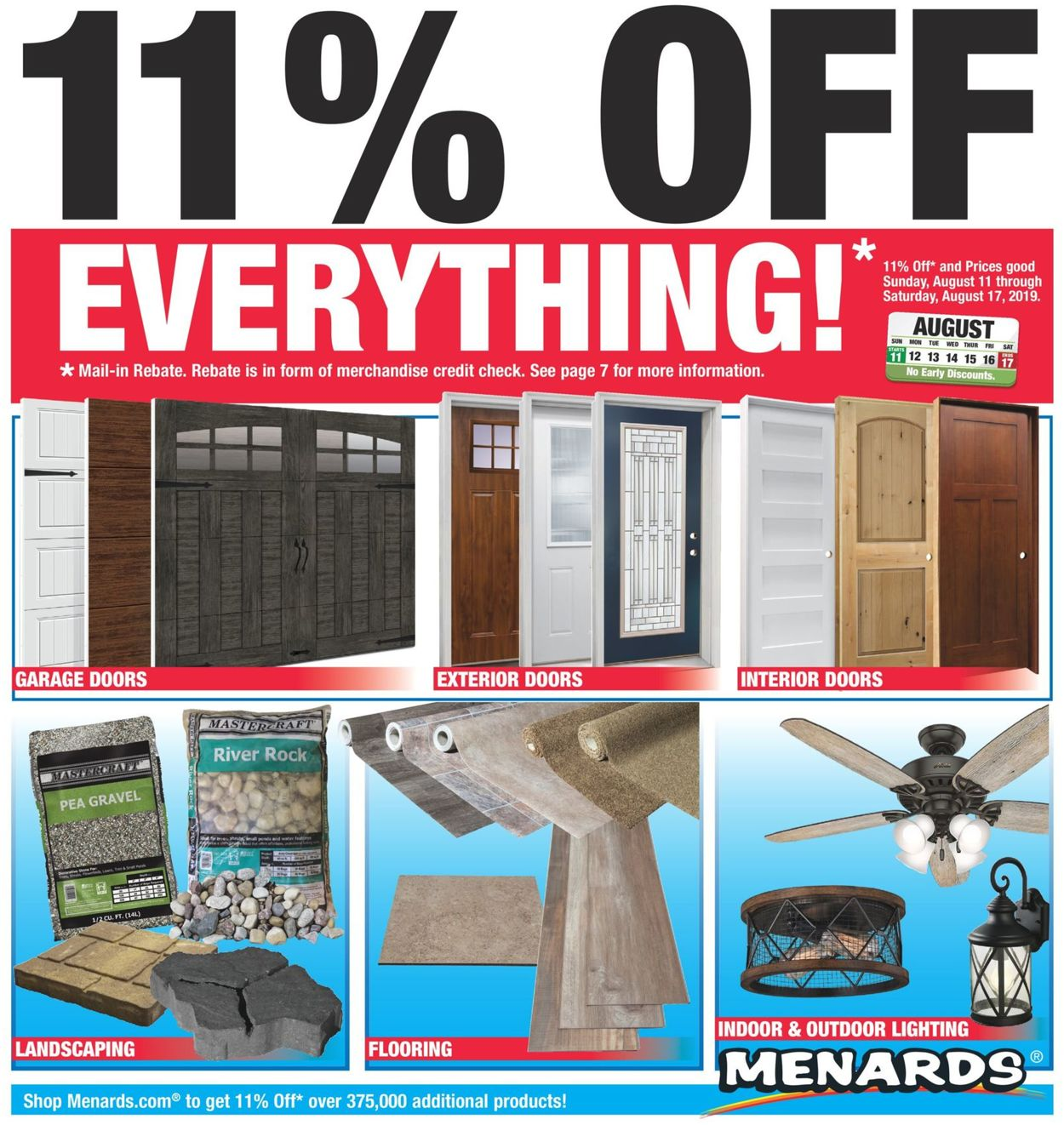 Menards Current weekly ad 08/11 - 08/17/2019 - frequent-ads com