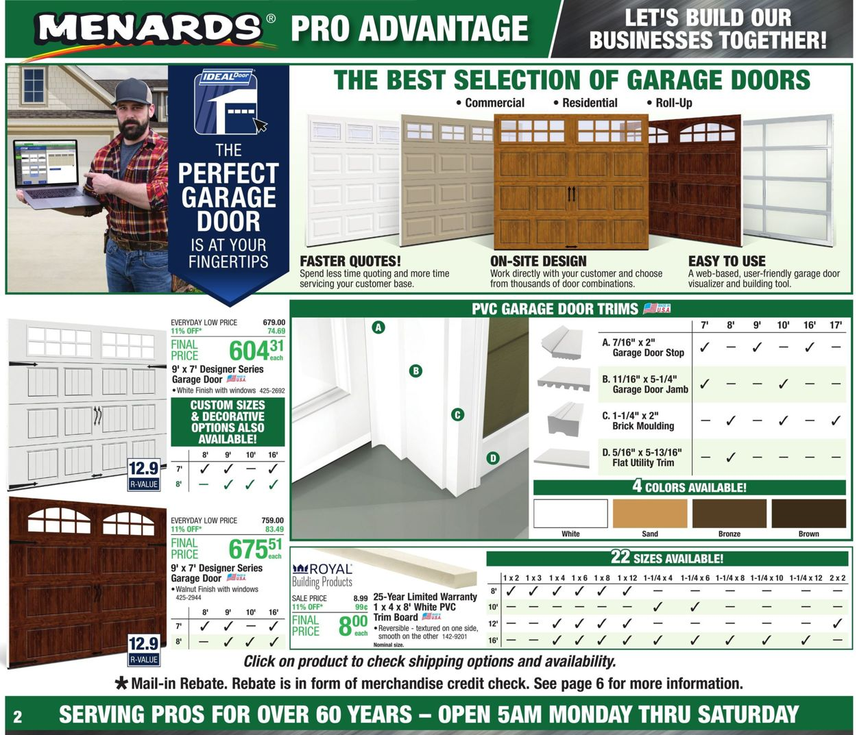 Menards Current Weekly Ad 09/01