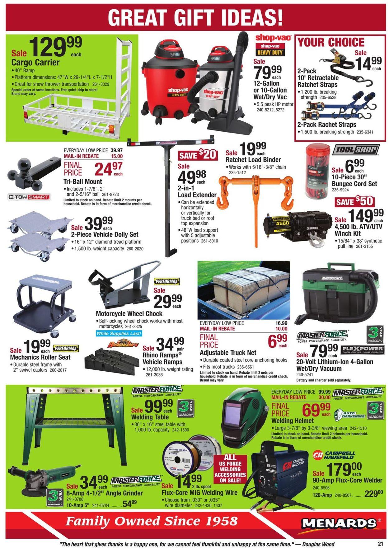 Menards Christmas Catalog 2020 Menards   Christmas Ad 2019 Current weekly ad 11/24   12/07/2019