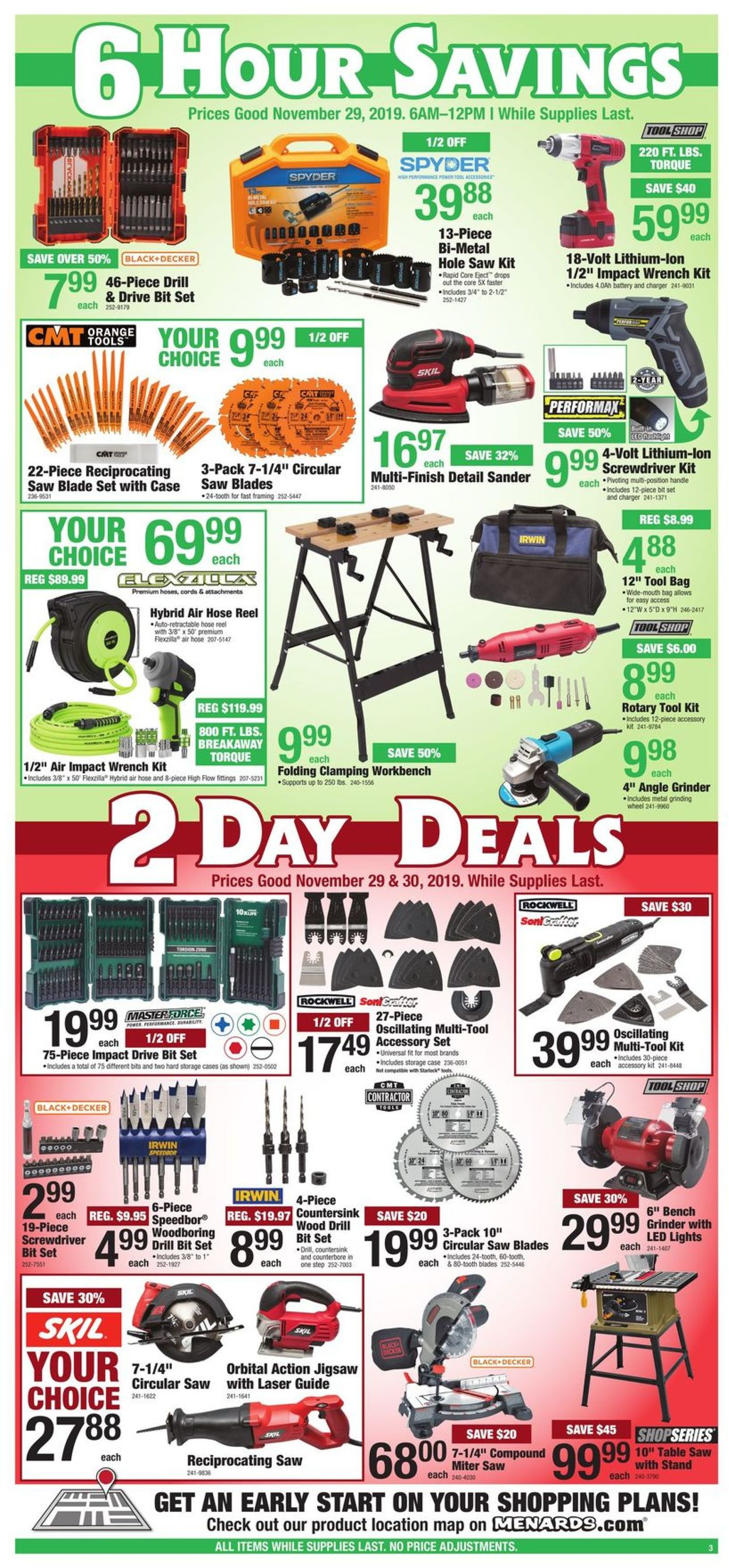 Magnificent Menards Black Friday Sale 2019 Current Weekly Ad 11 29 Gmtry Best Dining Table And Chair Ideas Images Gmtryco