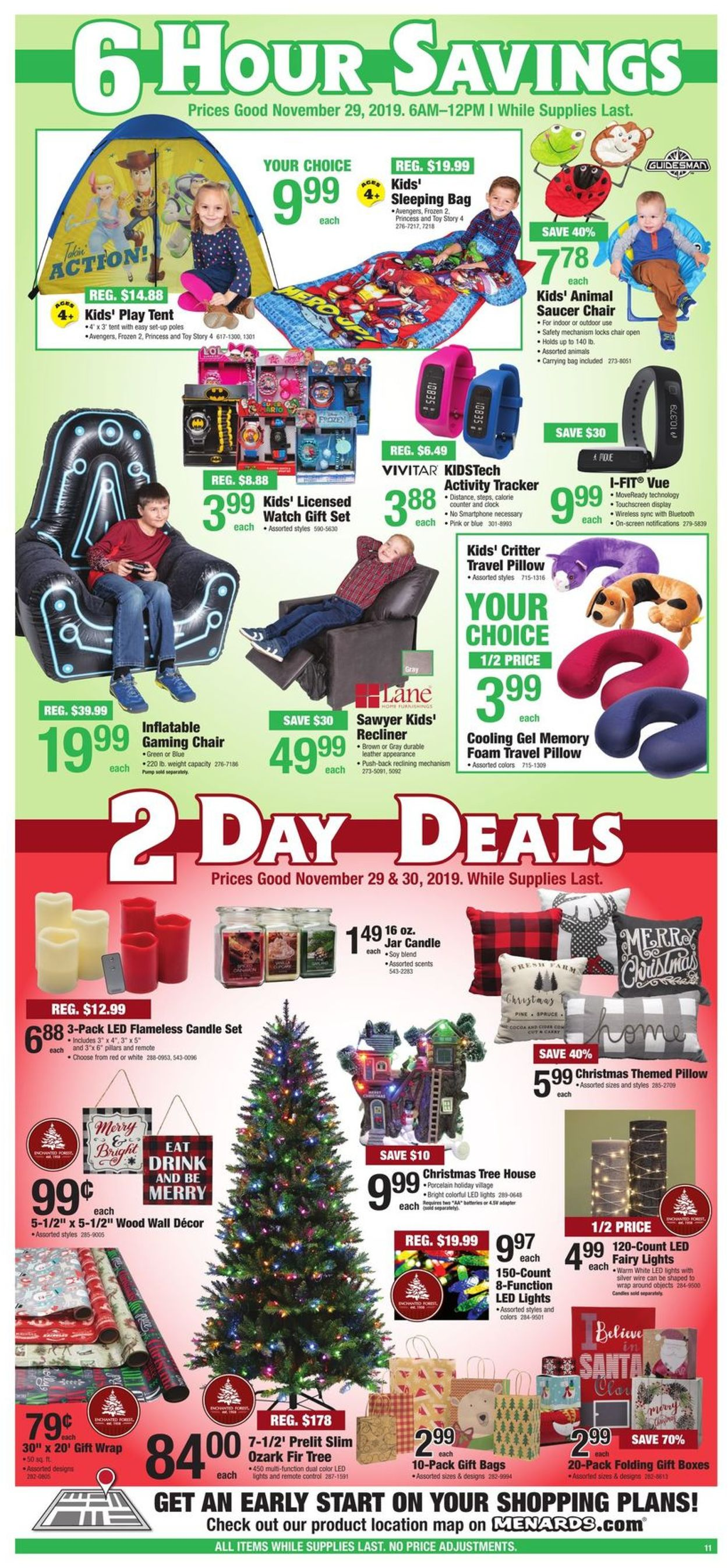 Menards Black Friday Sale 2019 Current Weekly Ad 11 29