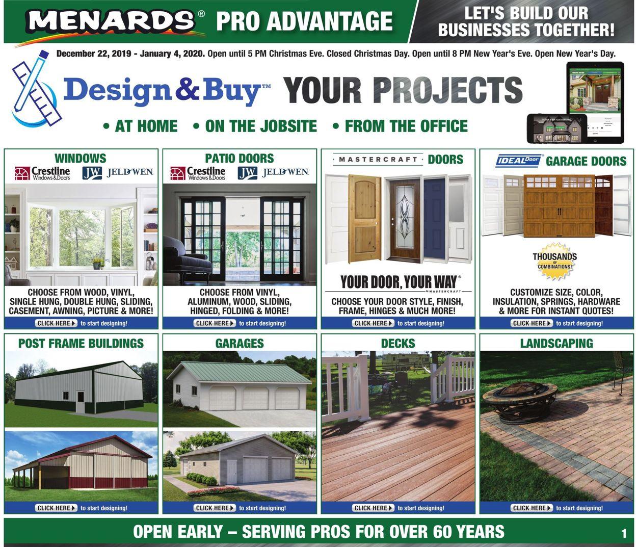 Menards Christmas Catalog 2020 Menards Current weekly ad 12/22   01/04/2020   frequent ads.com