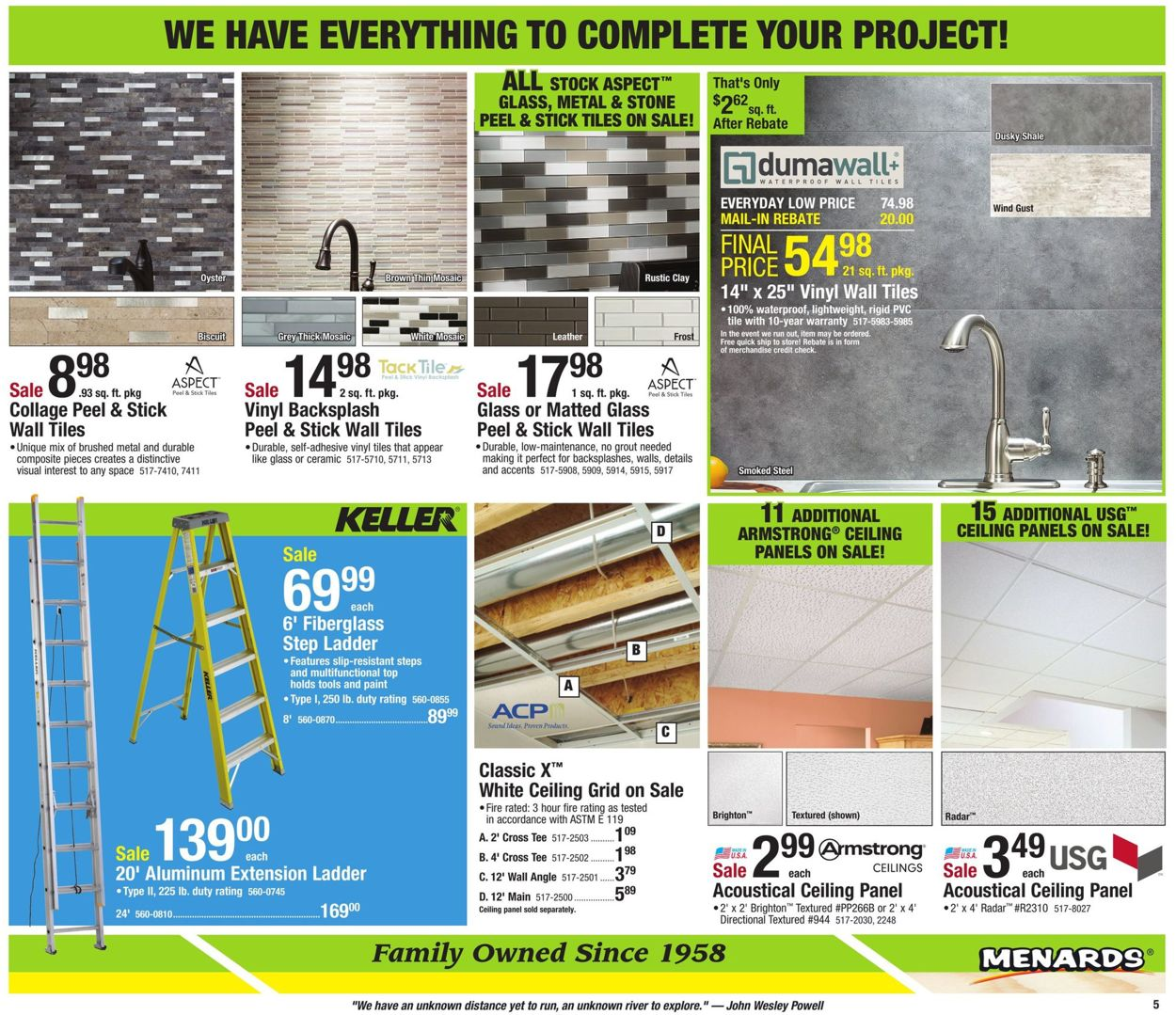 - Menards Current Weekly Ad 01/26 - 02/01/2020 [5] - Frequent-ads.com