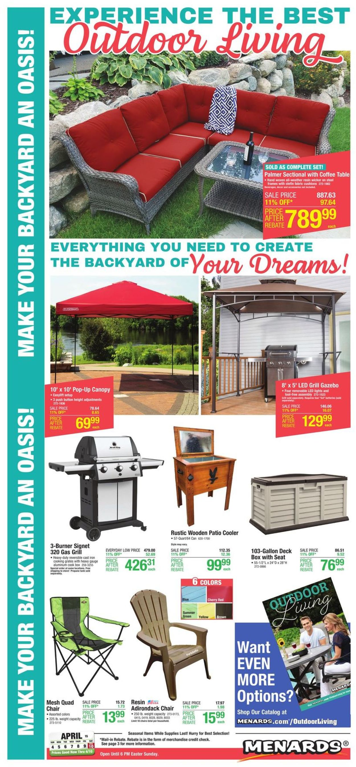 Catalogue Menards from 04/04/2021