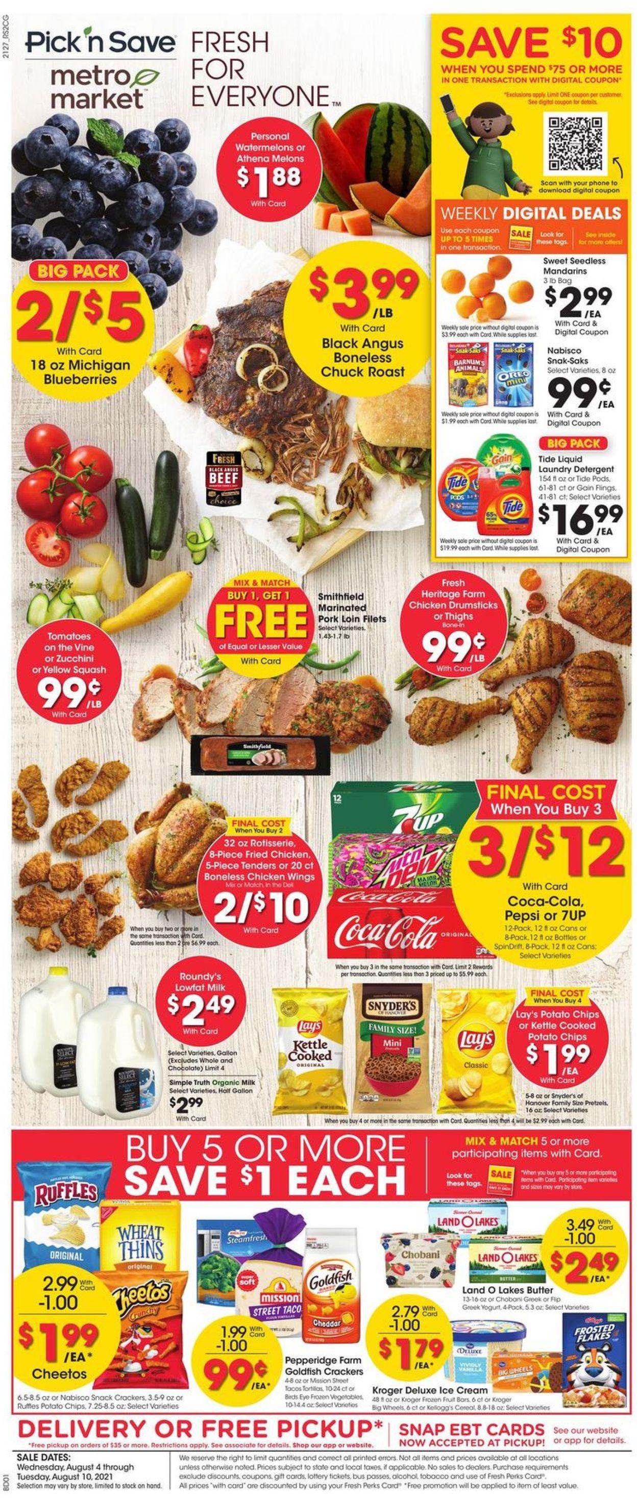 Catalogue Metro Market from 08/04/2021