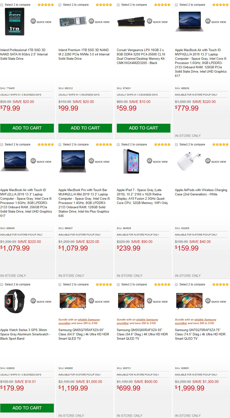 Micro Center Black Friday Ad 2019 Current Weekly Ad 11 26 12 03 2019 7 Frequent Ads Com