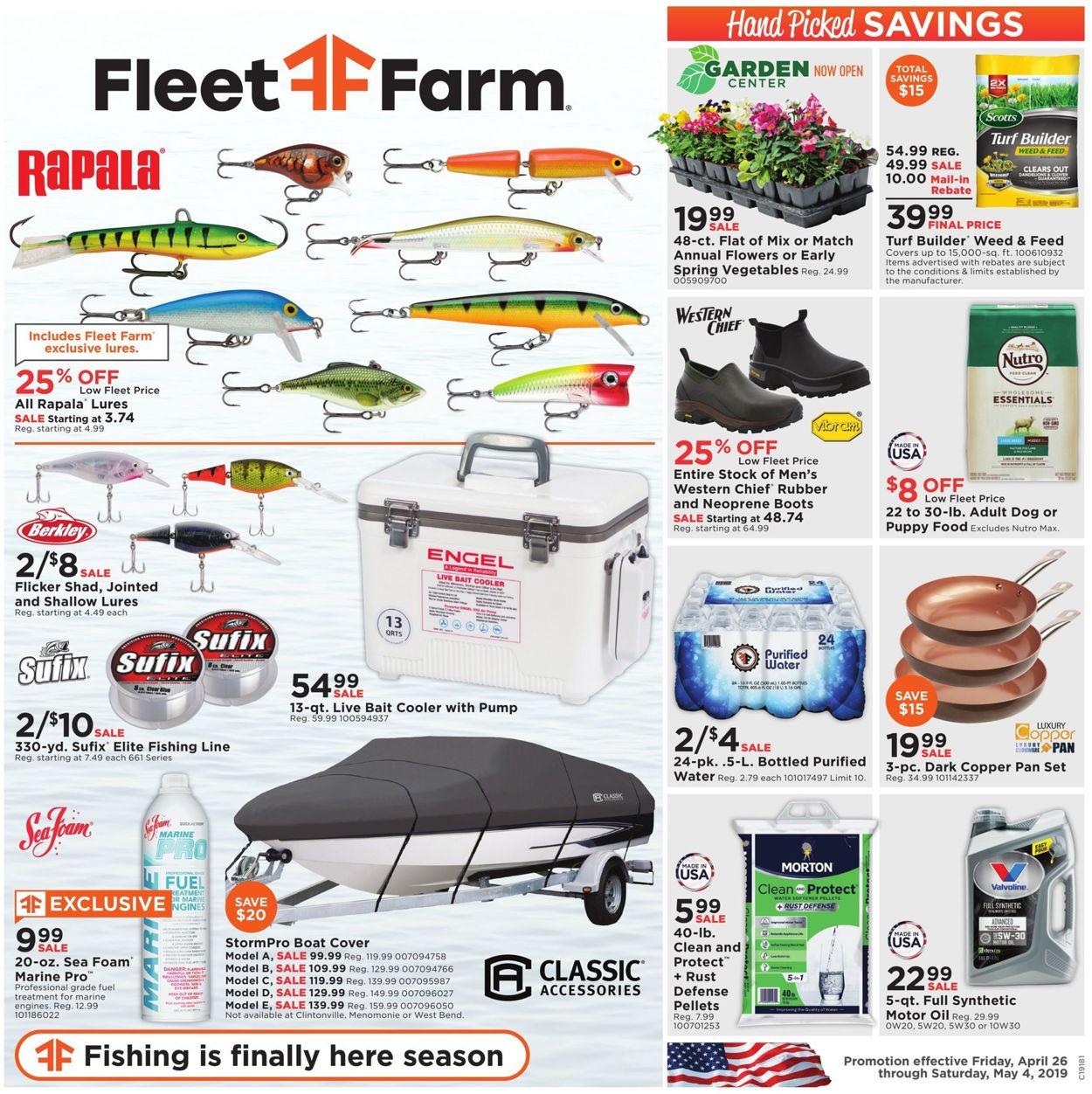 Mills Fleet Farm Current weekly ad 04/26 - 05/04/2019