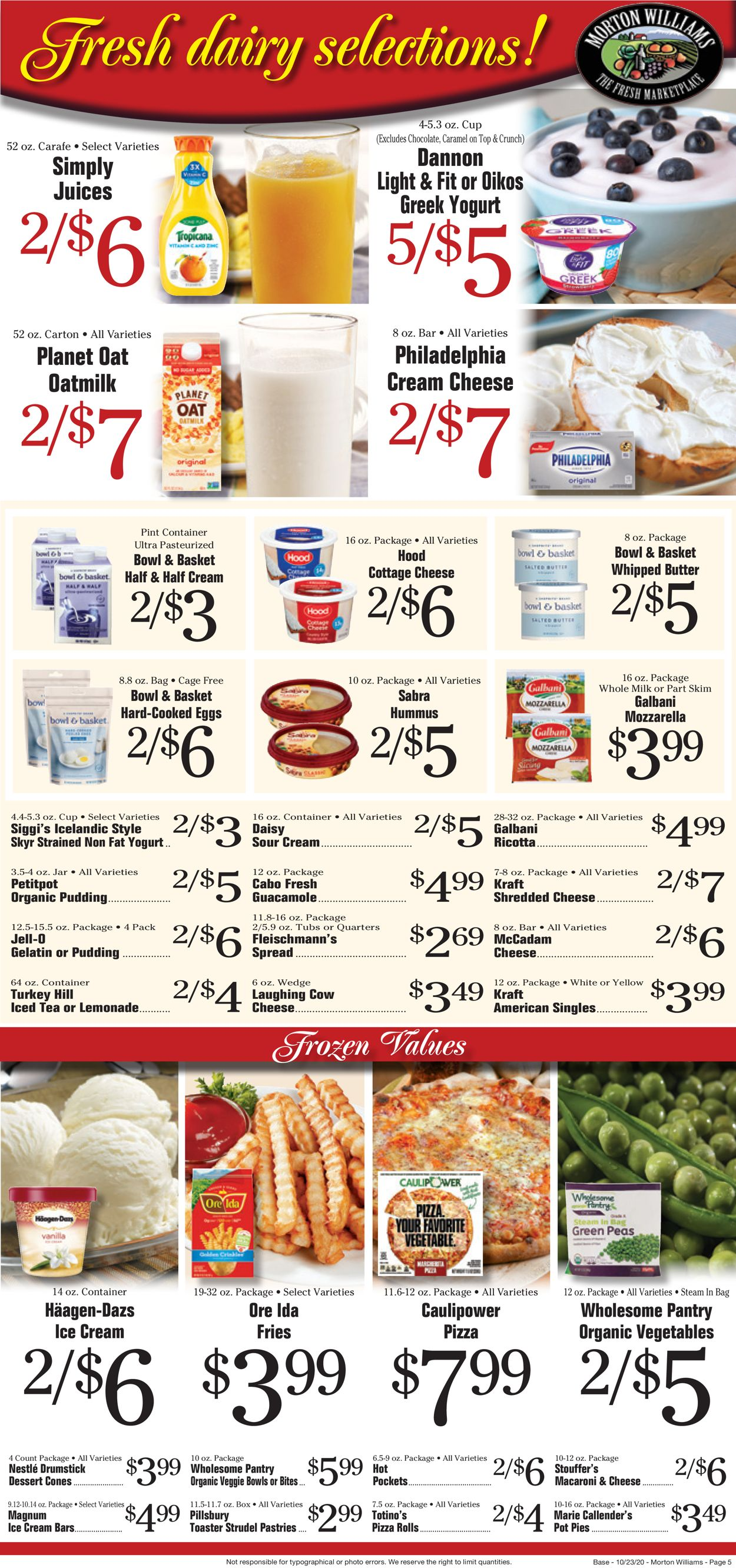 morton williams current weekly ad 10/23  10/29/2020 5  frequentads