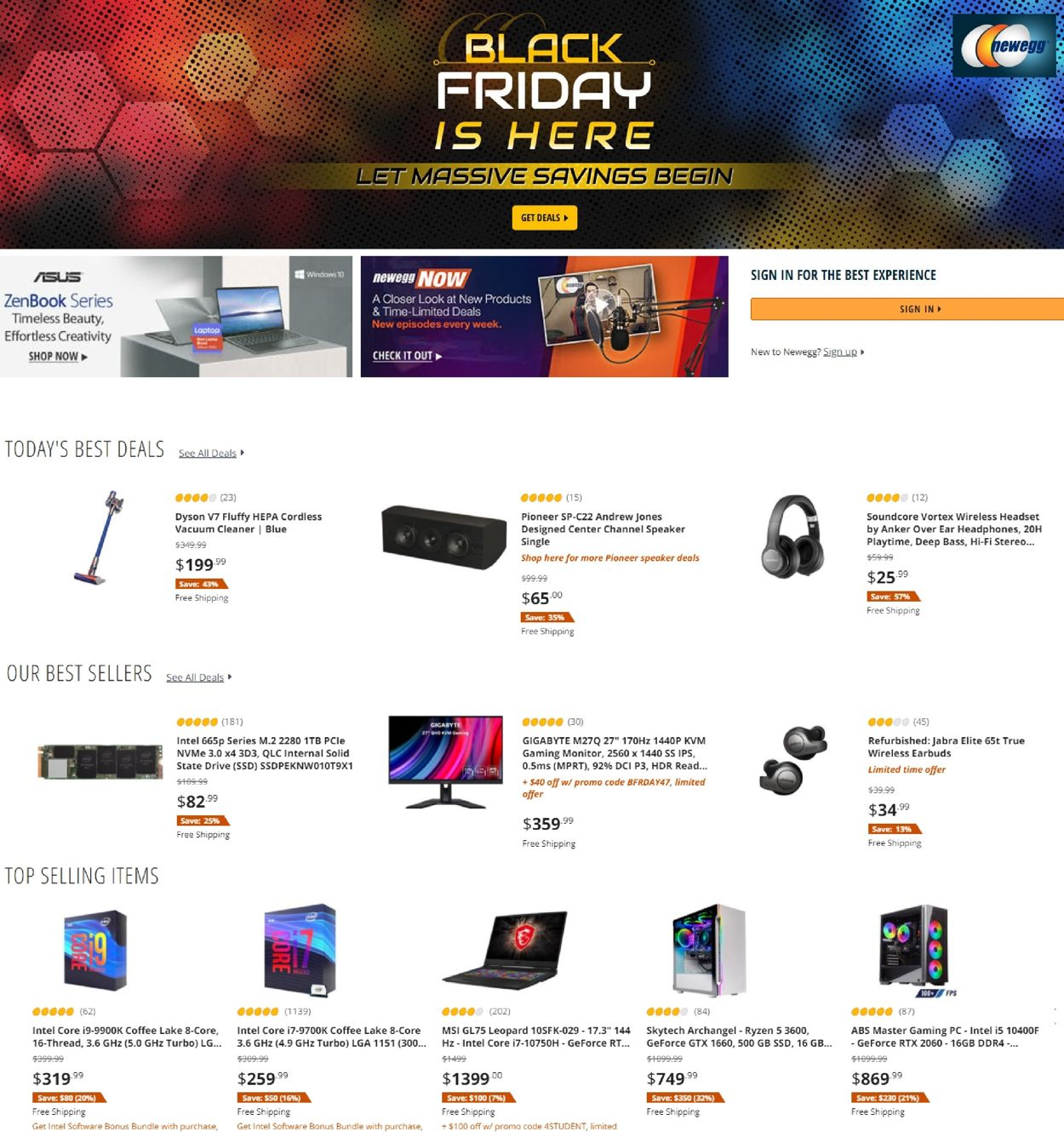 Newegg weekly-ad