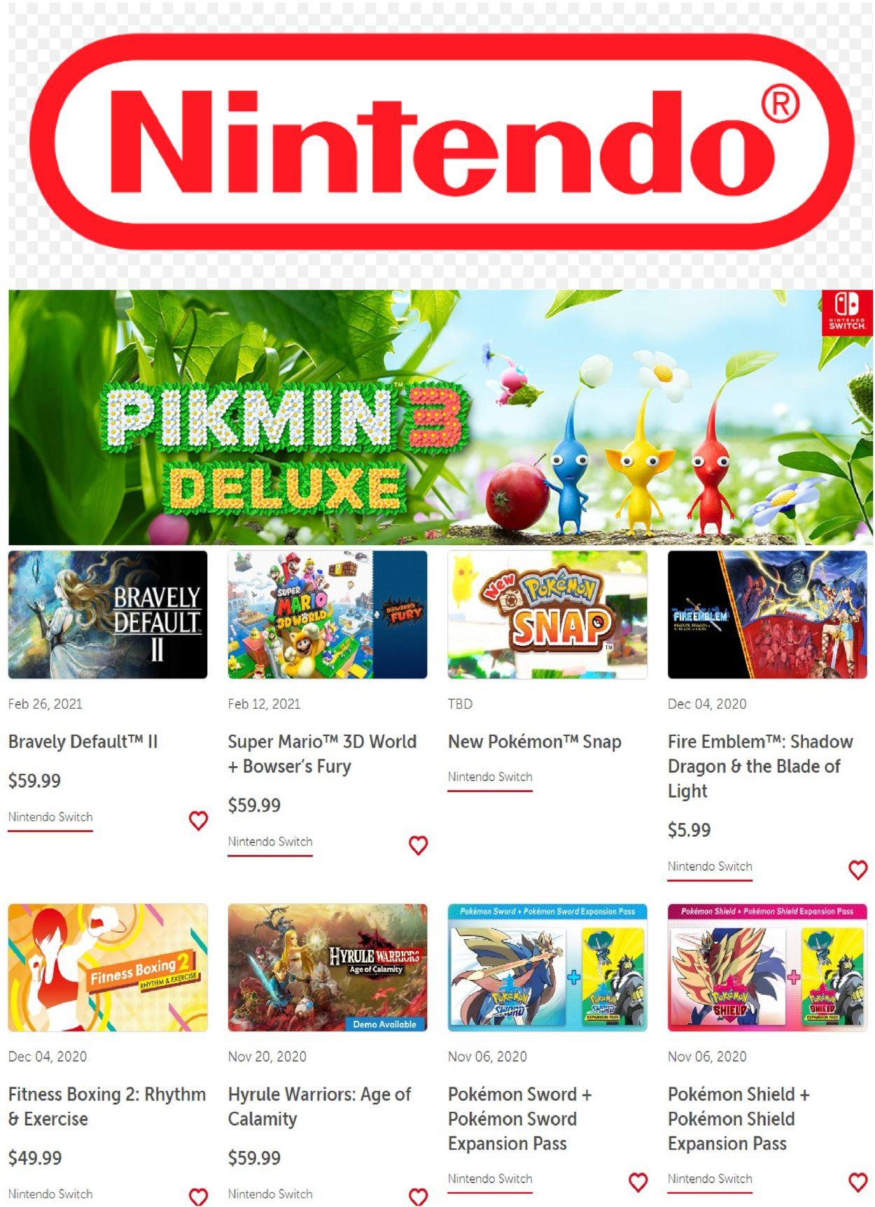 Nintendo weekly-ad