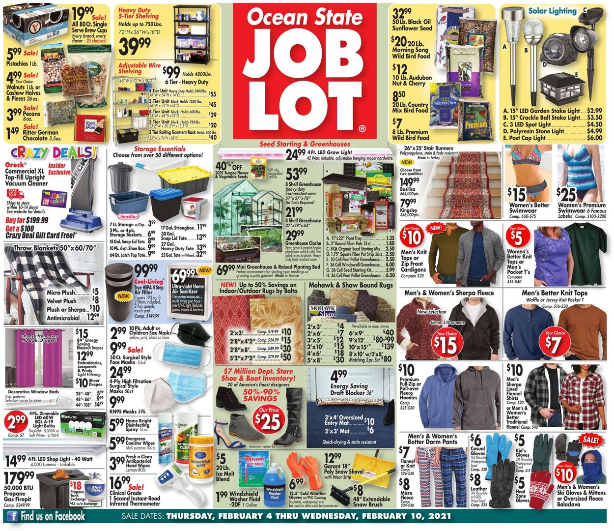 Catalogue Ocean State Job Lot from 02/04/2021