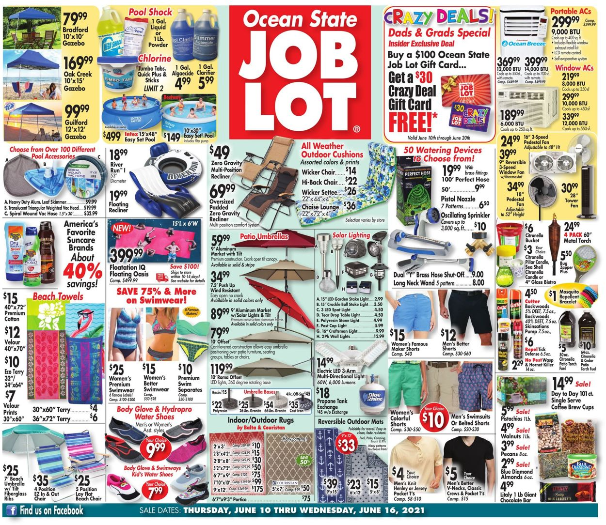 Catalogue Ocean State Job Lot from 06/10/2021