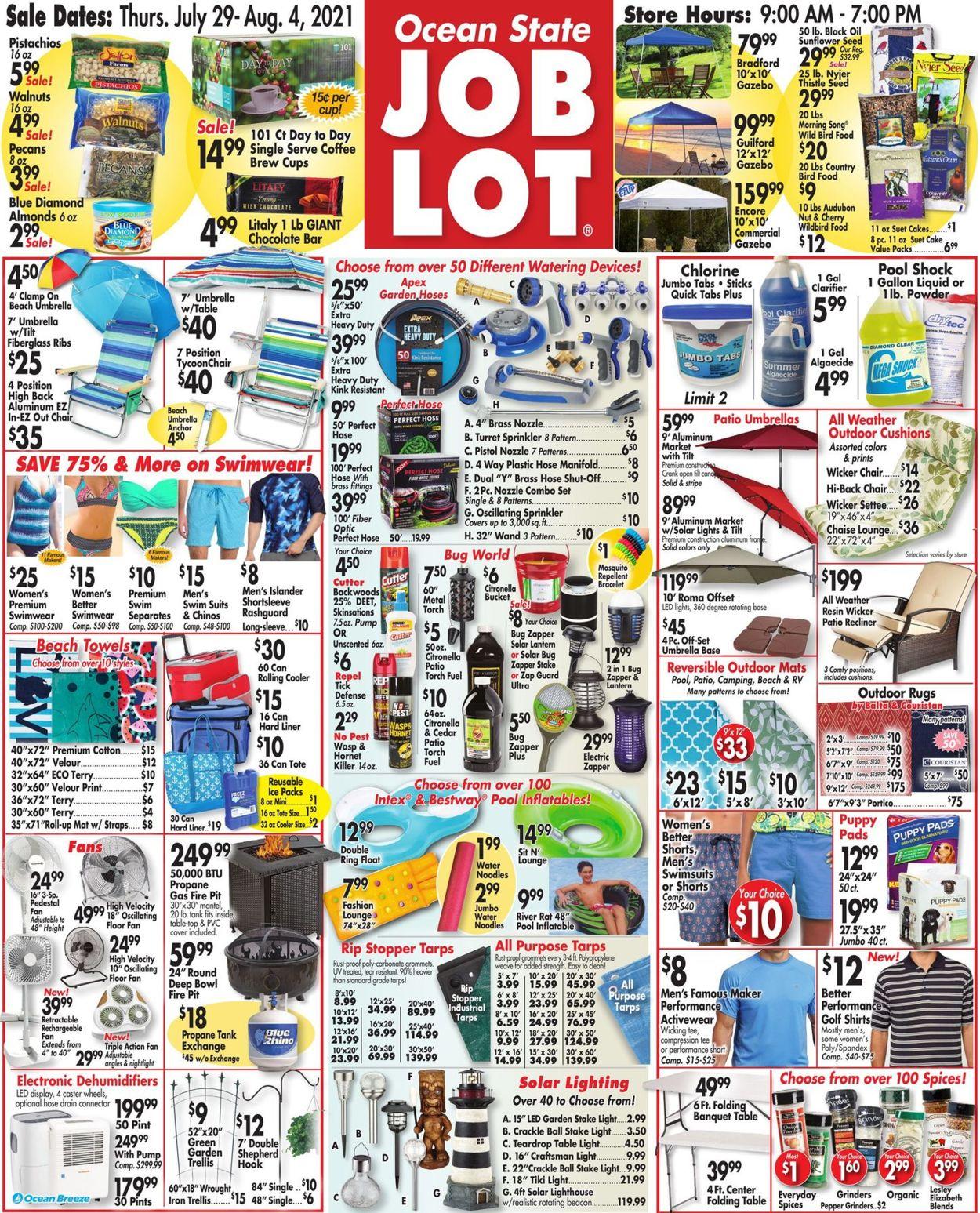 Ocean State Job Lot weekly-ad