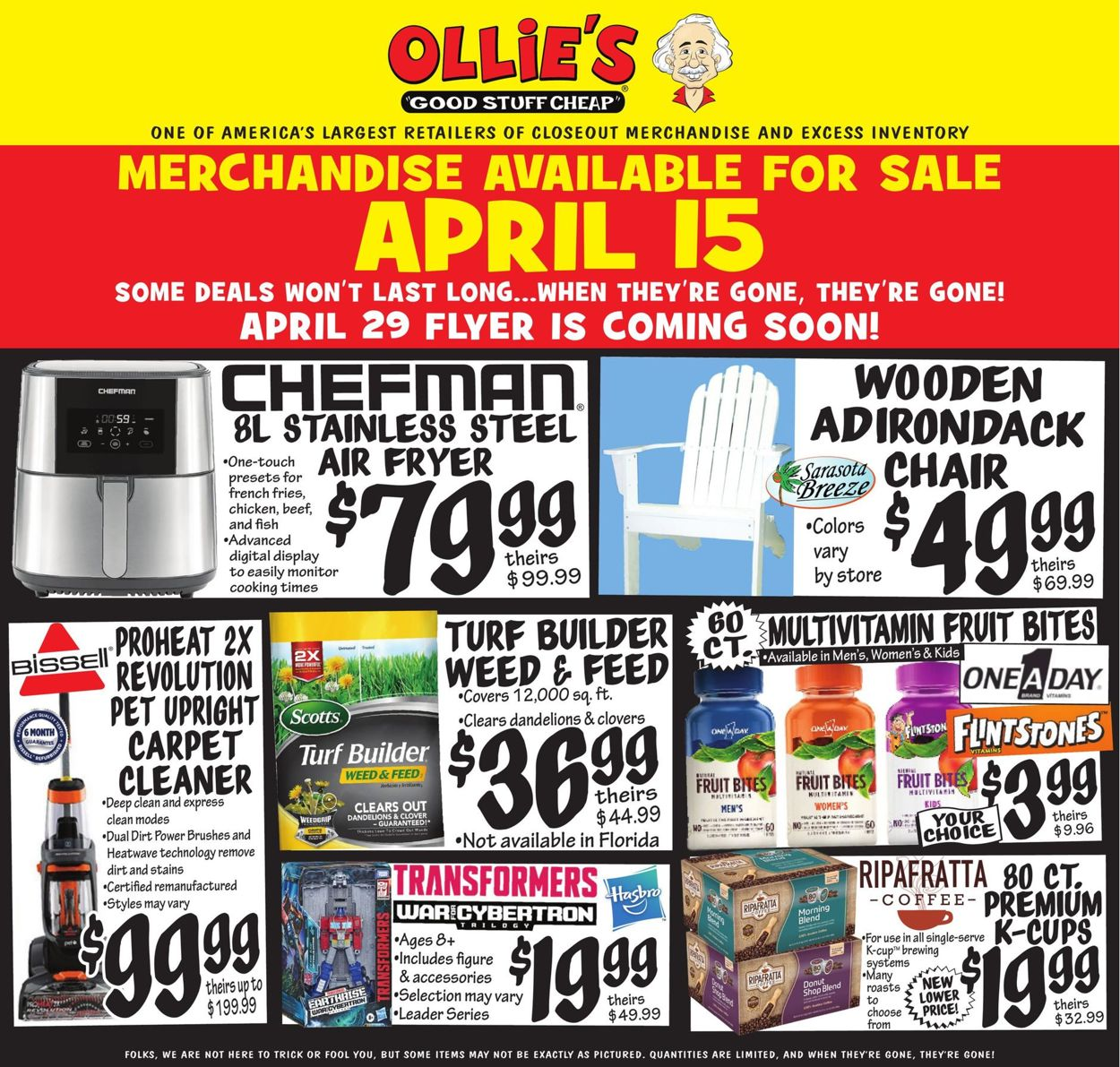 Catalogue Ollie's from 04/15/2021
