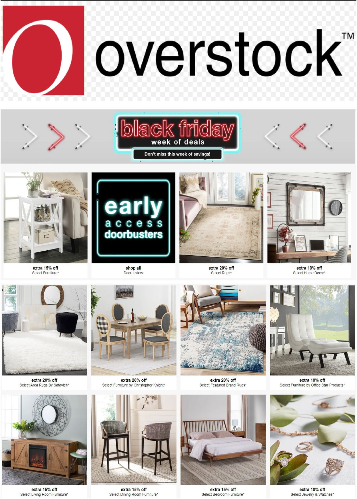 Overstock weekly-ad