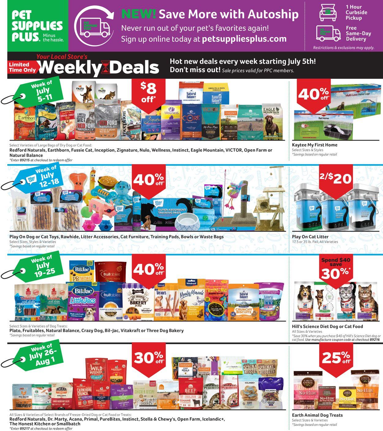 Pet Supplies Plus weekly-ad