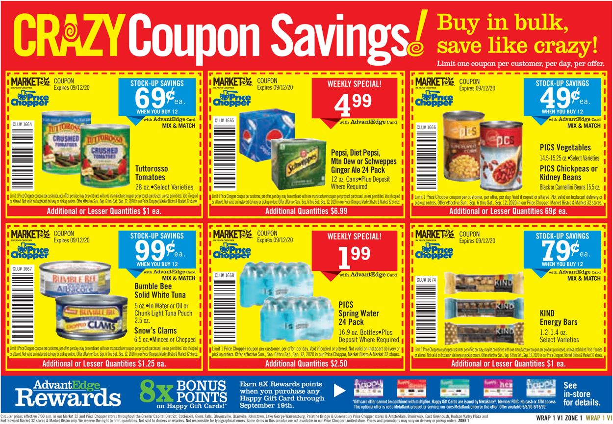 Catalogue Price Chopper from 09/06/2020